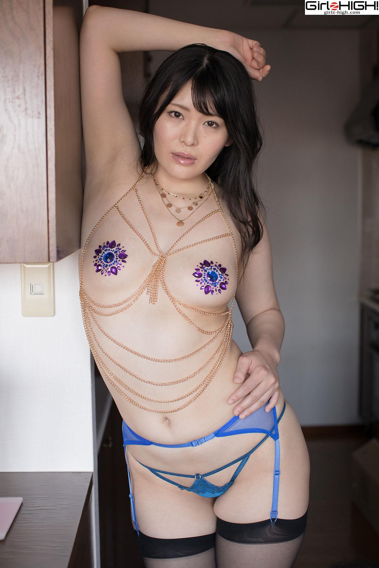 VOL.781 [Girlz-High]女艺人丝袜熟女:鹤祀真步(鶴祀眞歩)超高清写真套图(38P)