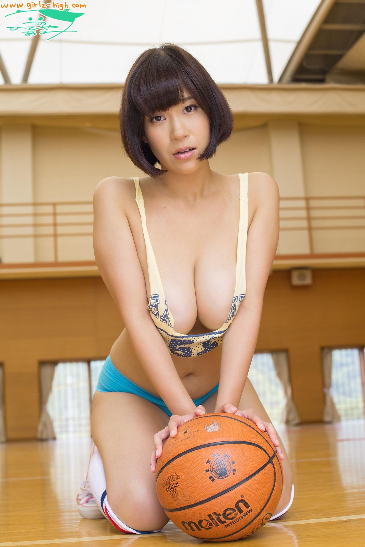 VOL.59 [Girlz-High]大胸篮球巨乳女艺人:日比谷亚美(日比谷亜美)超高清写真套图(60P)