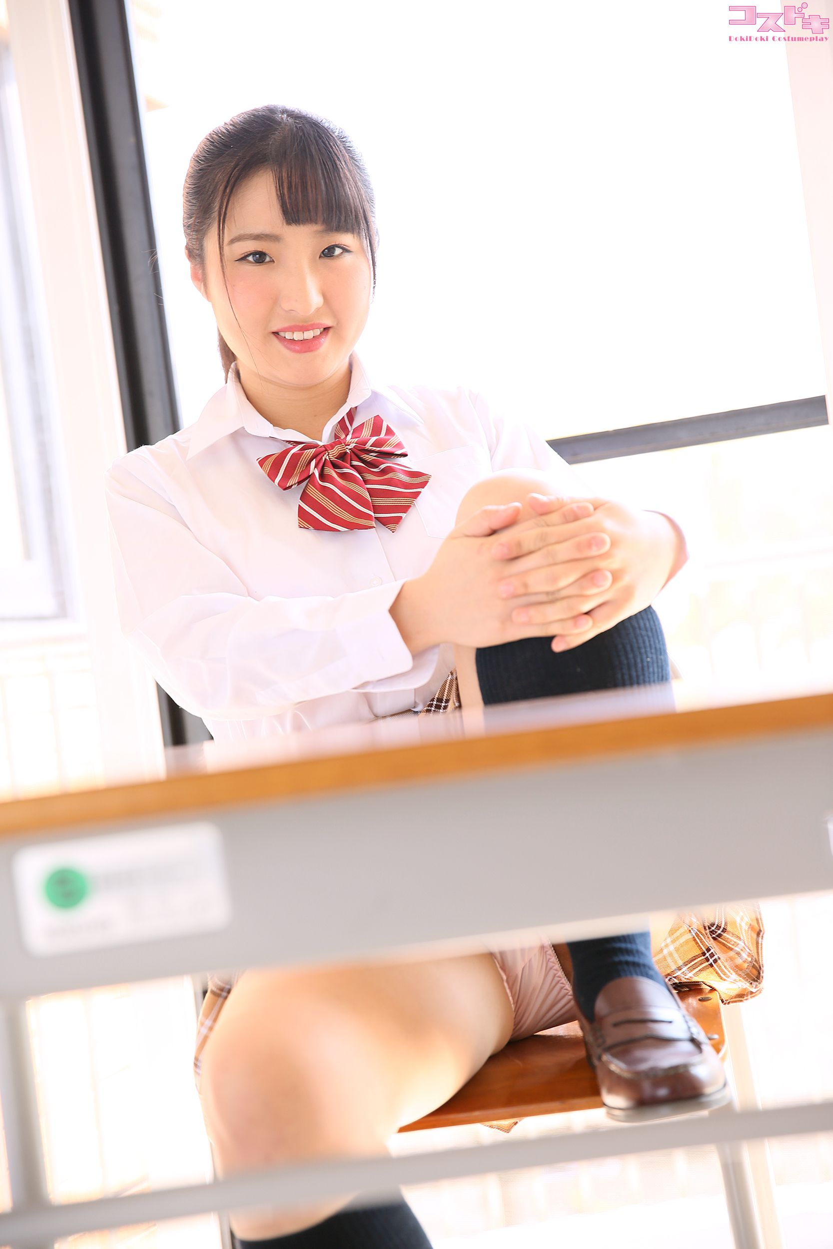 VOL.264 [Cosdoki]学生制服:宝生美亚(宝生美亜)超高清写真套图(48P)