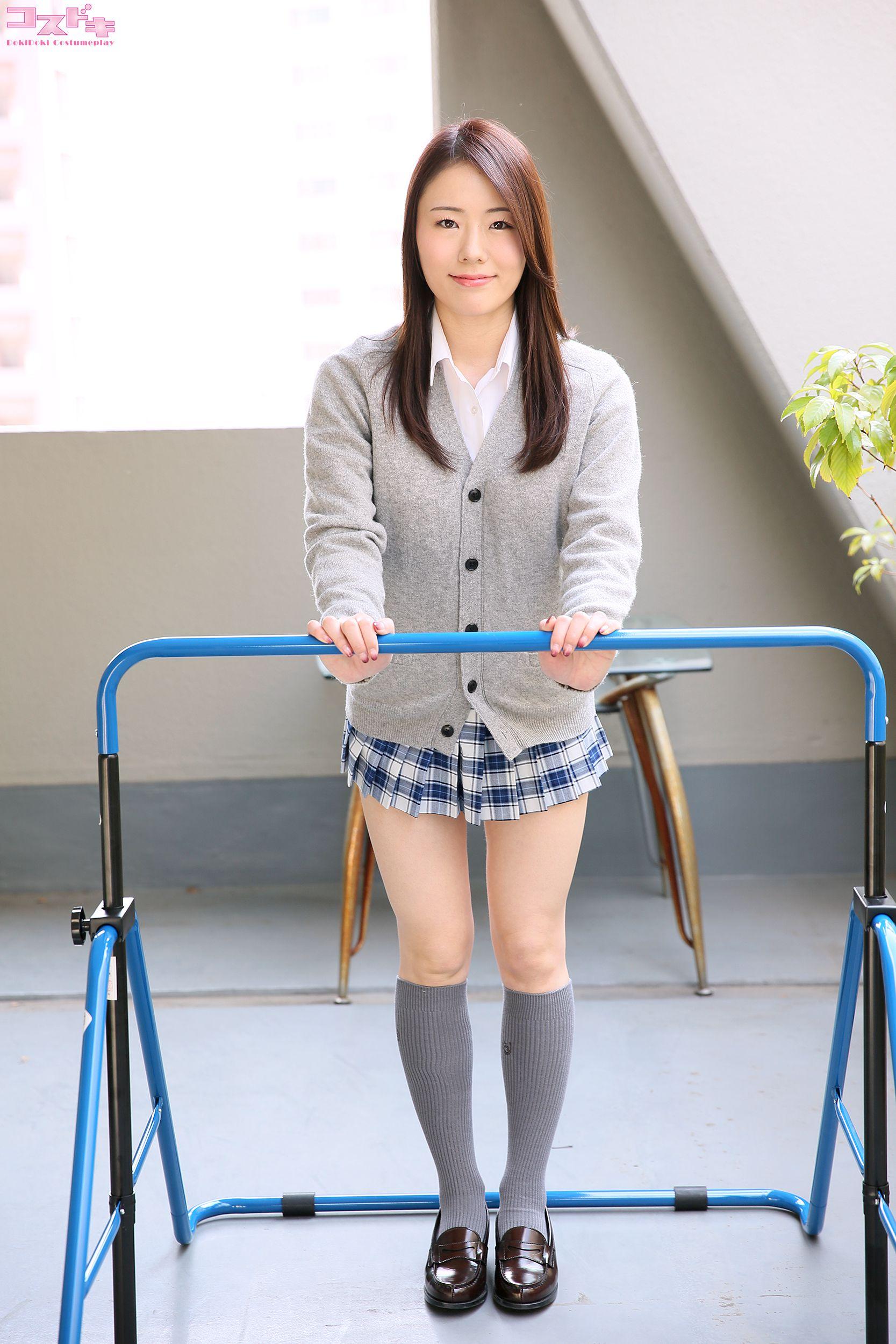 VOL.603 [Cosdoki]学生装:美倉あやみ超高清写真套图(30P)