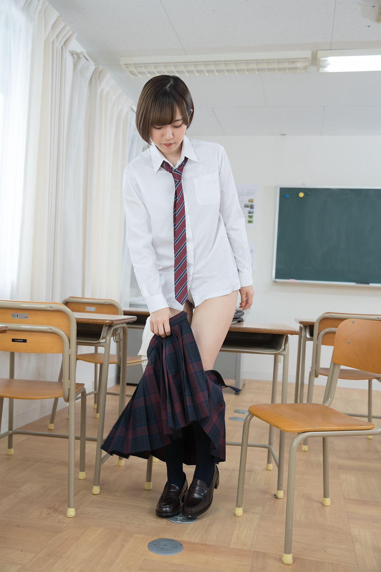 VOL.632 [Minisuka.tv]学生装:香月杏珠(香月りお)超高清写真套图(40P)