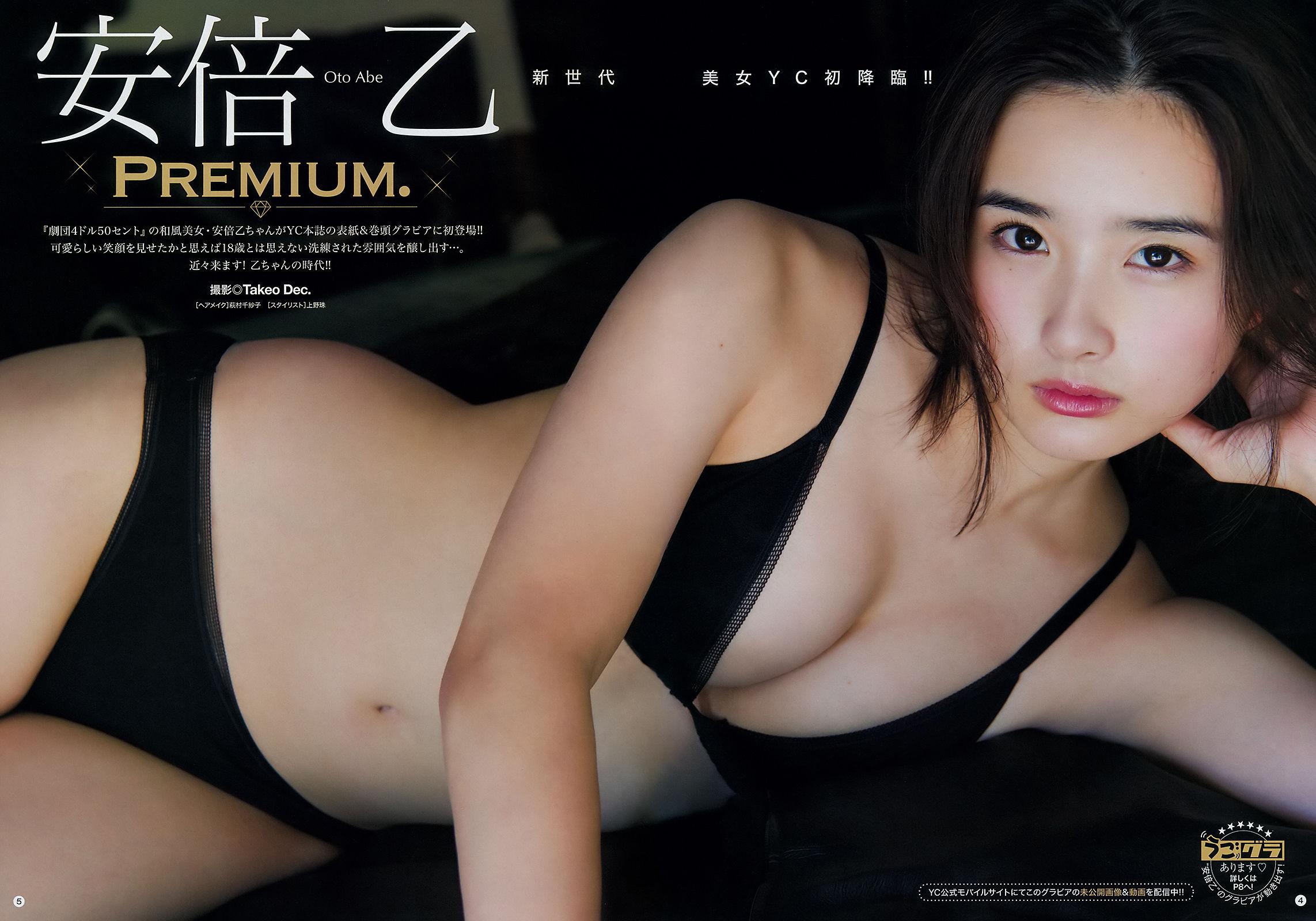 VOL.756 [Young Champion]美胸:安倍乙超高清写真套图(12P)