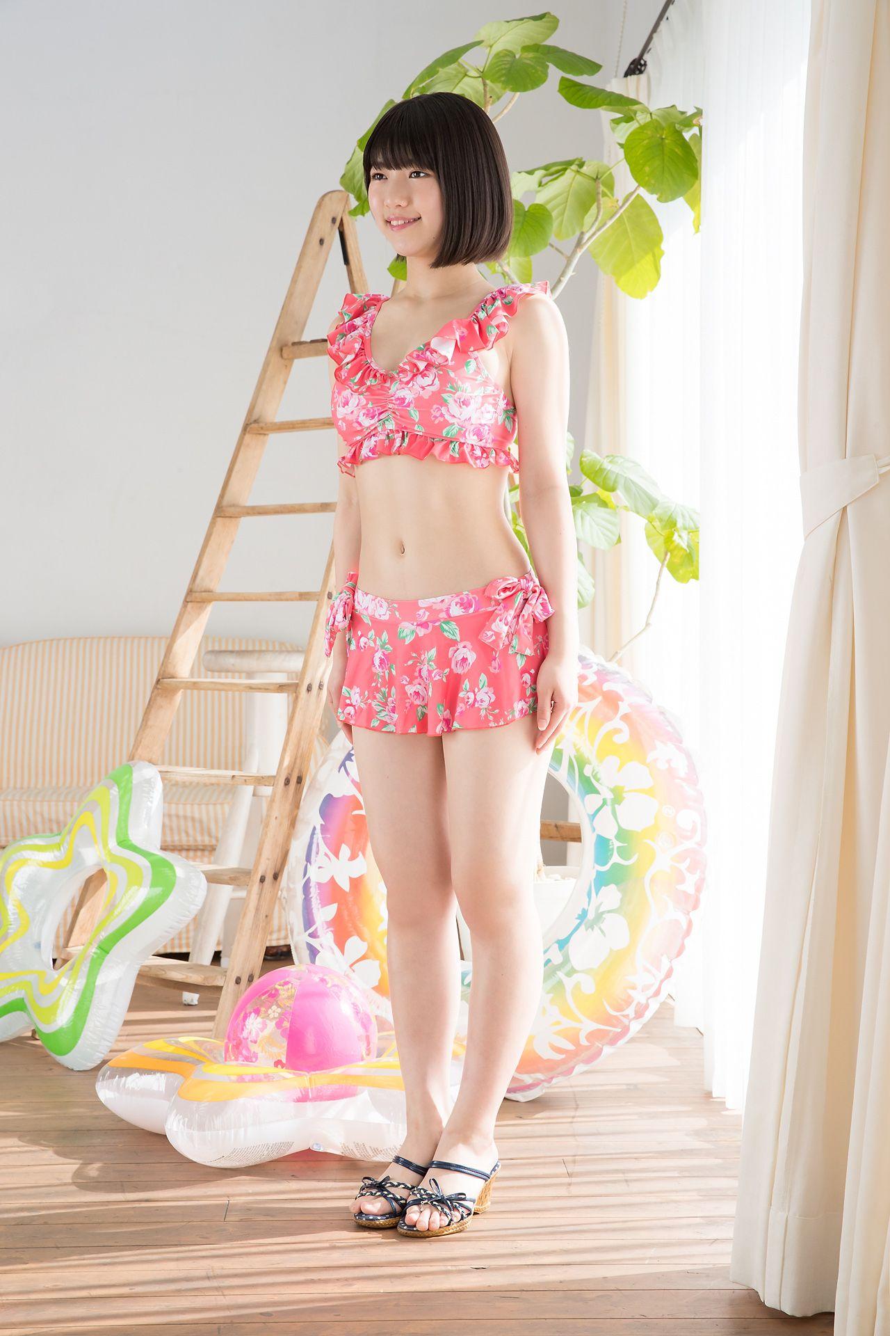 VOL.250 [Minisuka.tv]泳装萌女:沢村りさ超高清写真套图(50P)