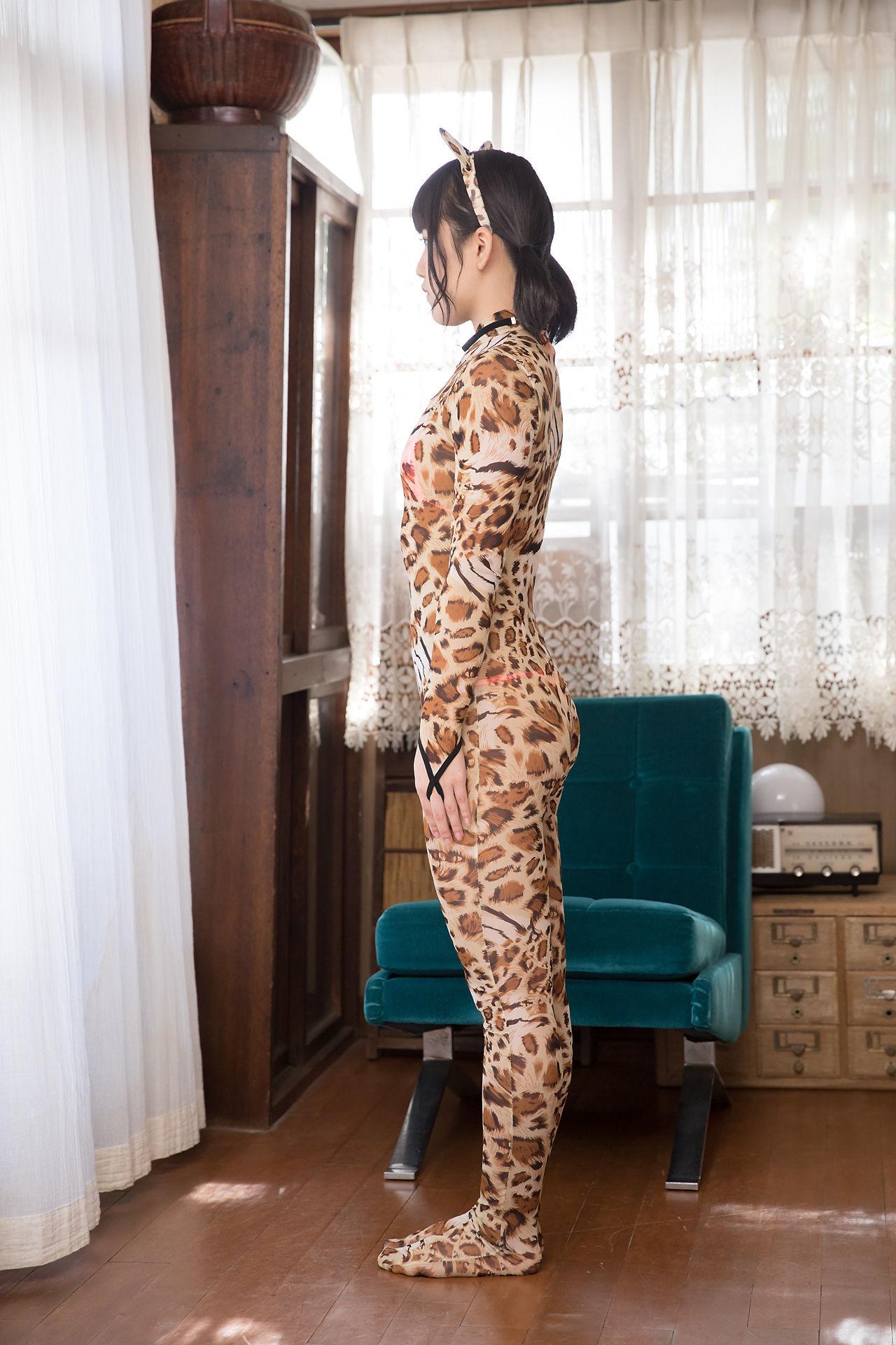 VOL.795 [Minisuka.tv]猫女郎豹纹美女:香月杏珠(香月りお)超高清写真套图(55P)