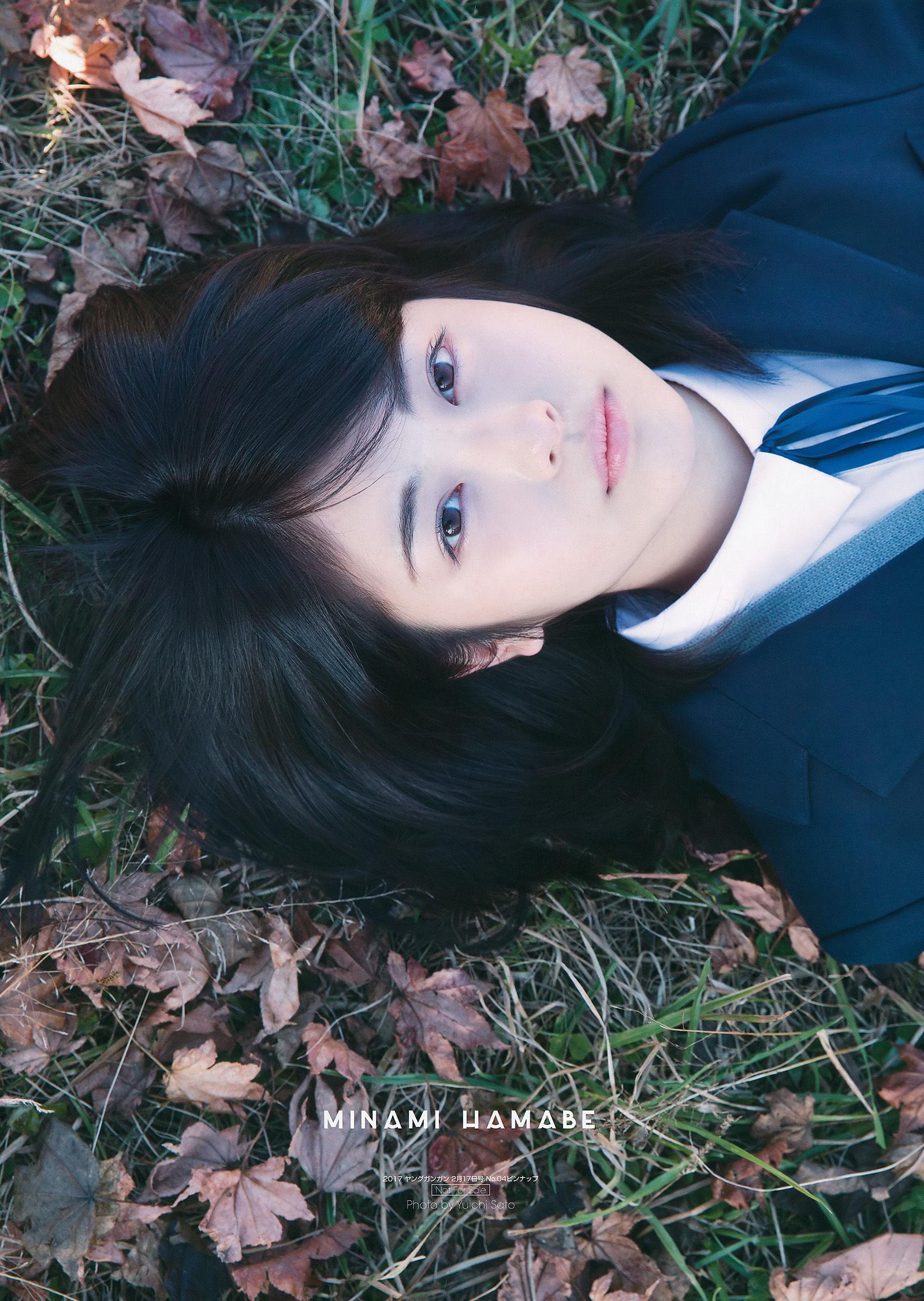 VOL.210 [Young Gangan]正妹:滨边美波超高清写真套图(25P)