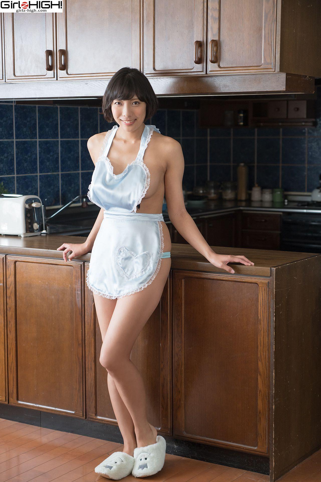VOL.573 [Girlz-High]美厨娘日本少妇:麻仓麻里奈(麻倉まりな)超高清写真套图(50P)
