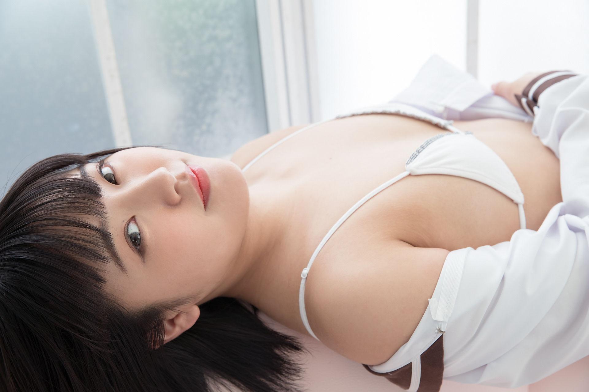 VOL.24 [Minisuka.tv]性感少女:香月杏珠(香月りお)超高清写真套图(35P)