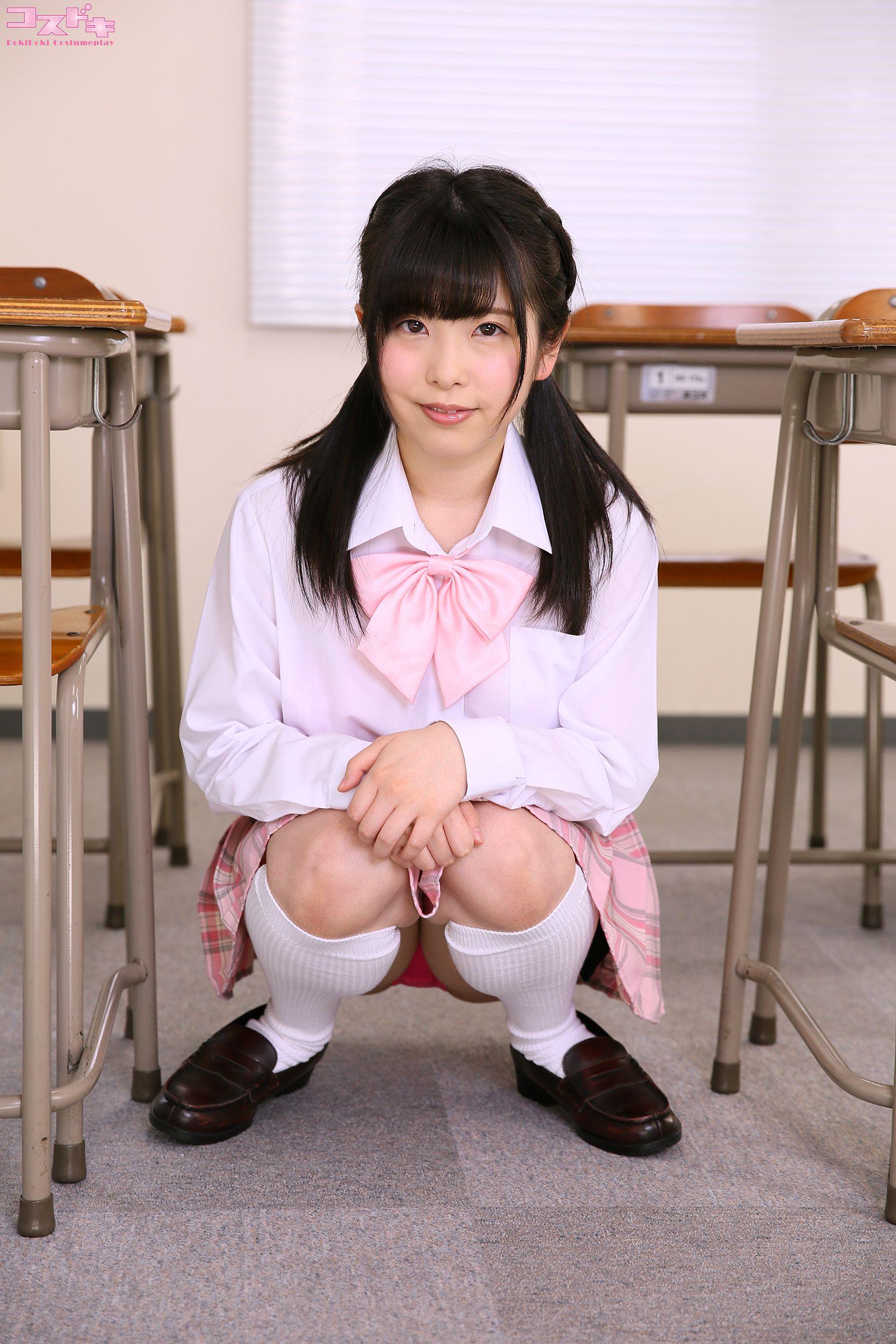 VOL.688 [Cosdoki]学生制服:雏见怜(ひなみれん)超高清写真套图(34P)