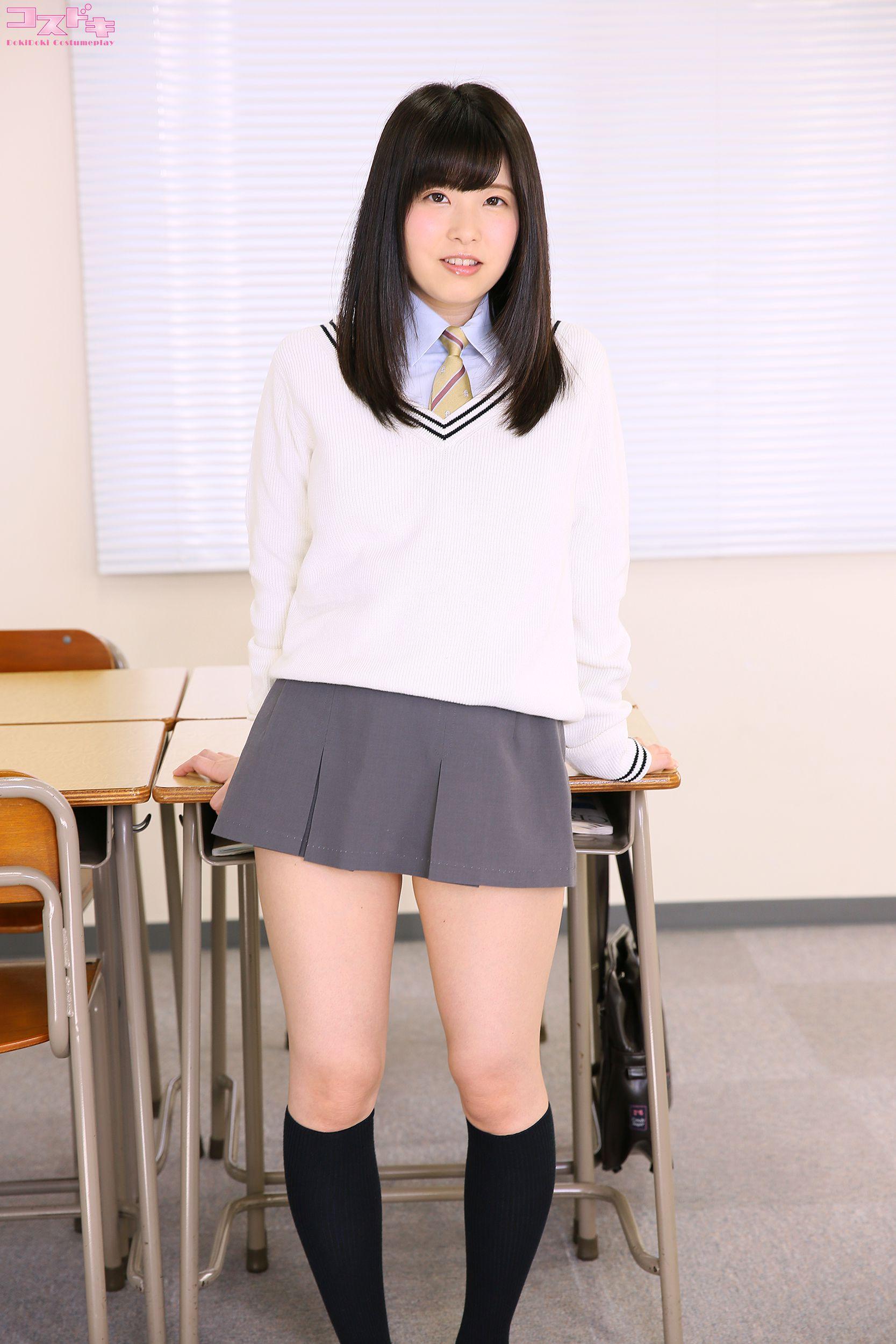 VOL.517 [Cosdoki]学生装:雏见怜(ひなみれん)超高清写真套图(29P)