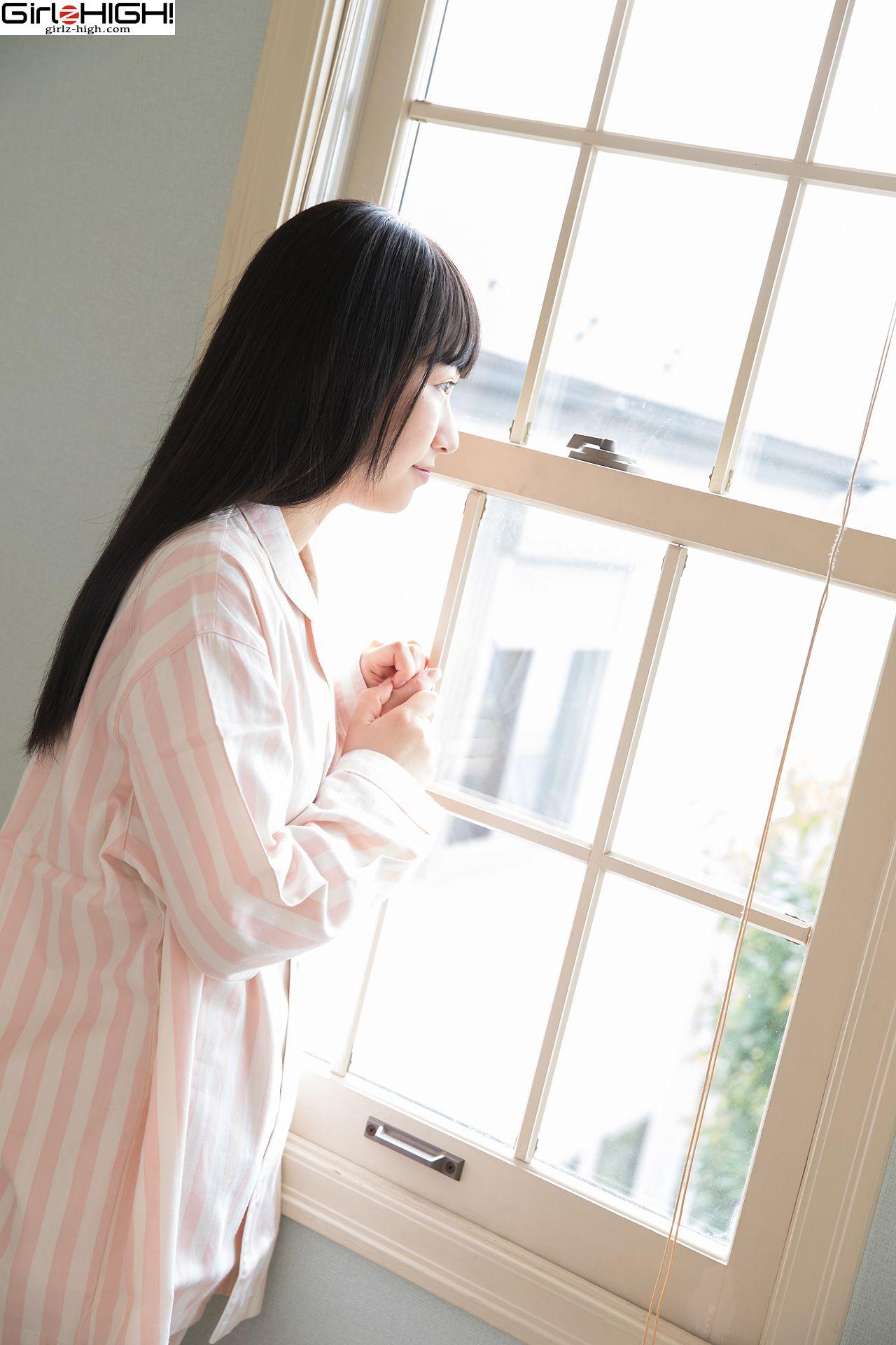 VOL.661 [Girlz-High]日本萌妹子黑长直:叶月彩菜(葉月彩菜)超高清写真套图(40P)