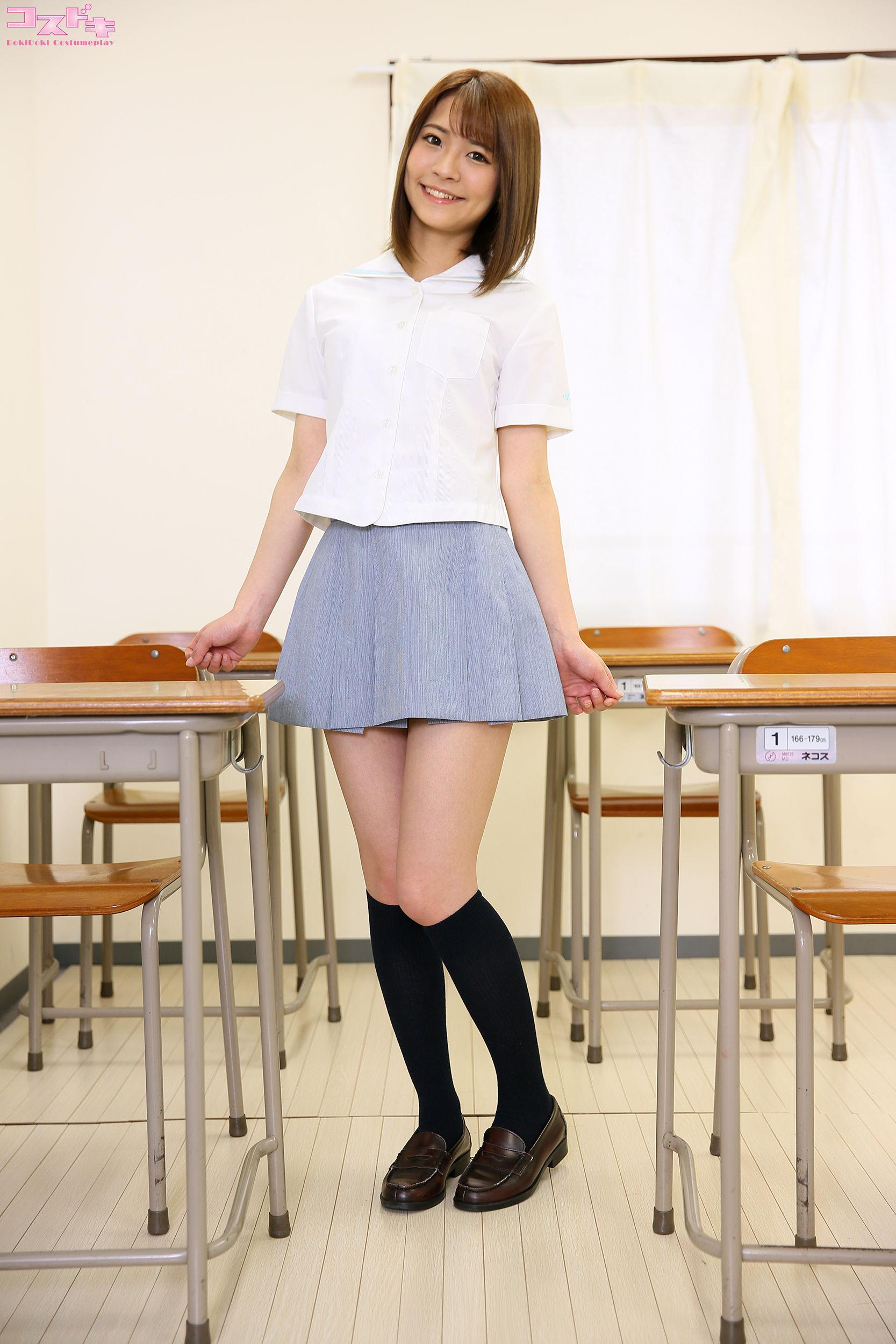 VOL.989 [Cosdoki]学生制服:东条夏(東條なつ)超高清写真套图(50P)
