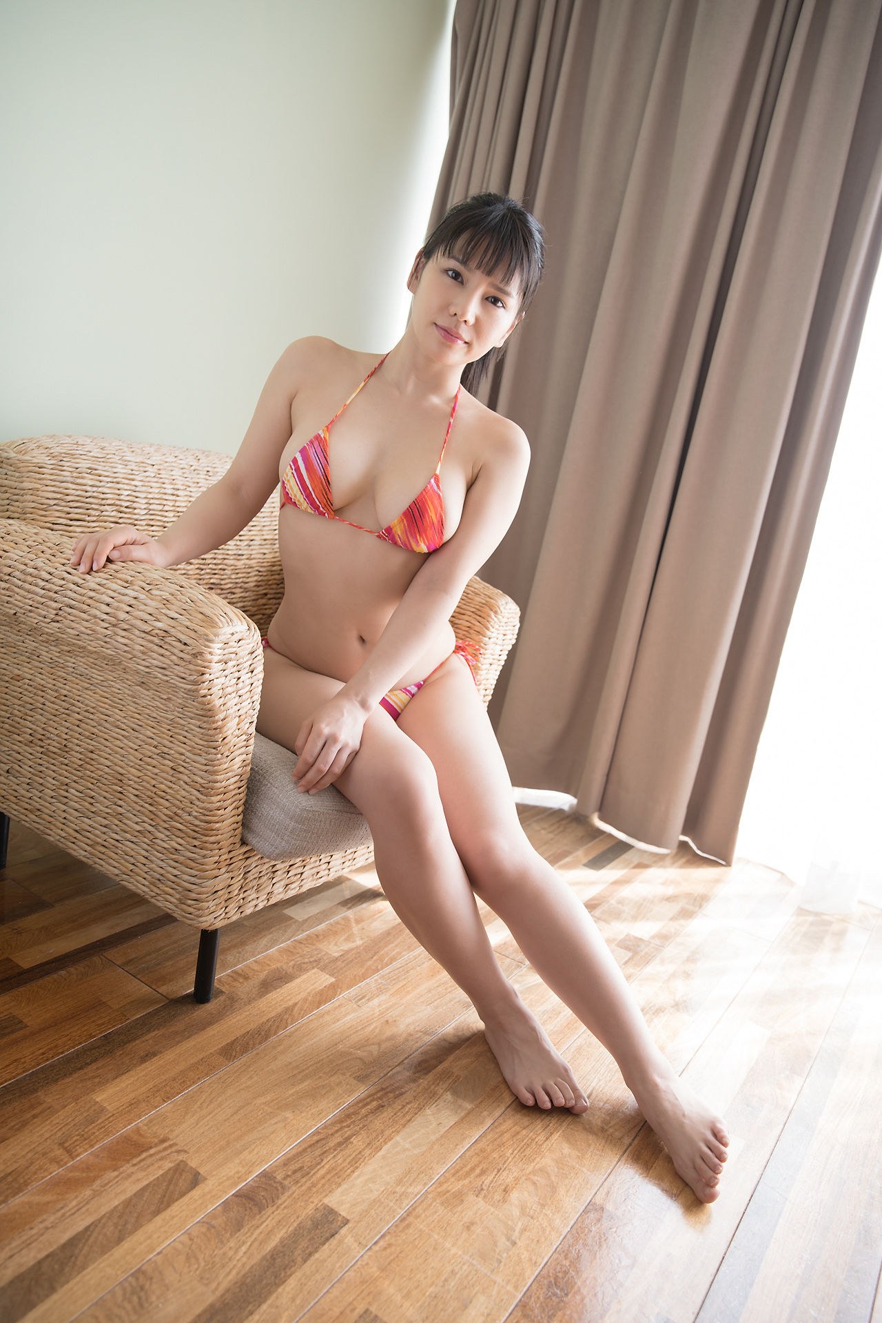 VOL.45 [Minisuka.tv]泳装:新垣优香(新垣優香)超高清写真套图(40P)