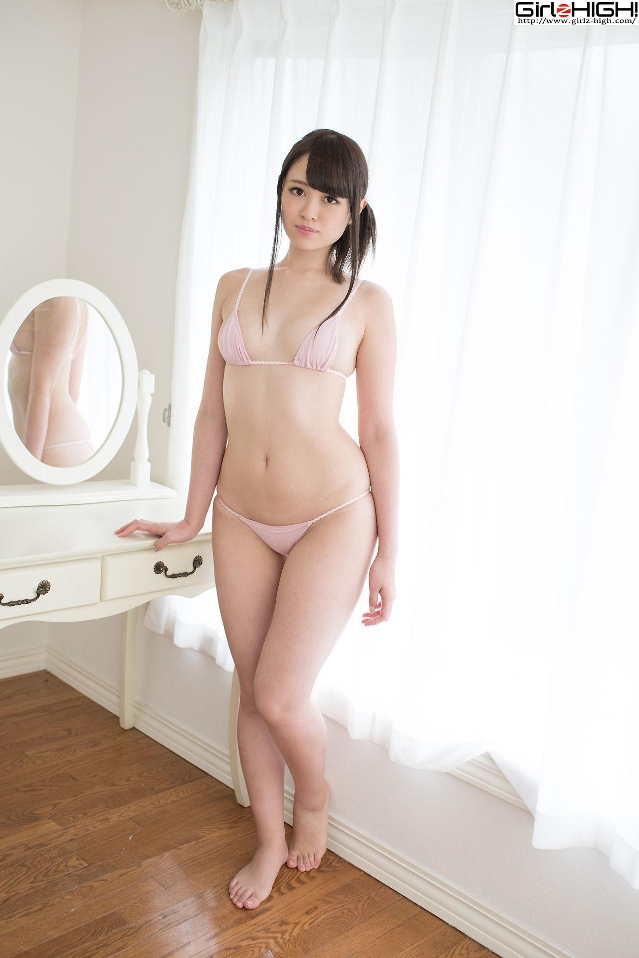 VOL.278 [Girlz-High]粉嫩美乳日本萌妹子:葉山みおり超高清写真套图(50P)