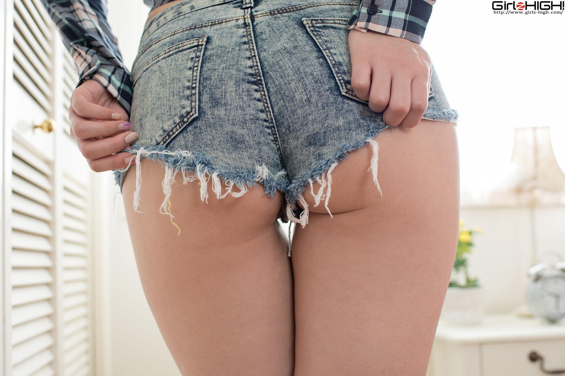 VOL.574 [Girlz-High]热裤牛仔:葉山みおり超高清写真套图(50P)