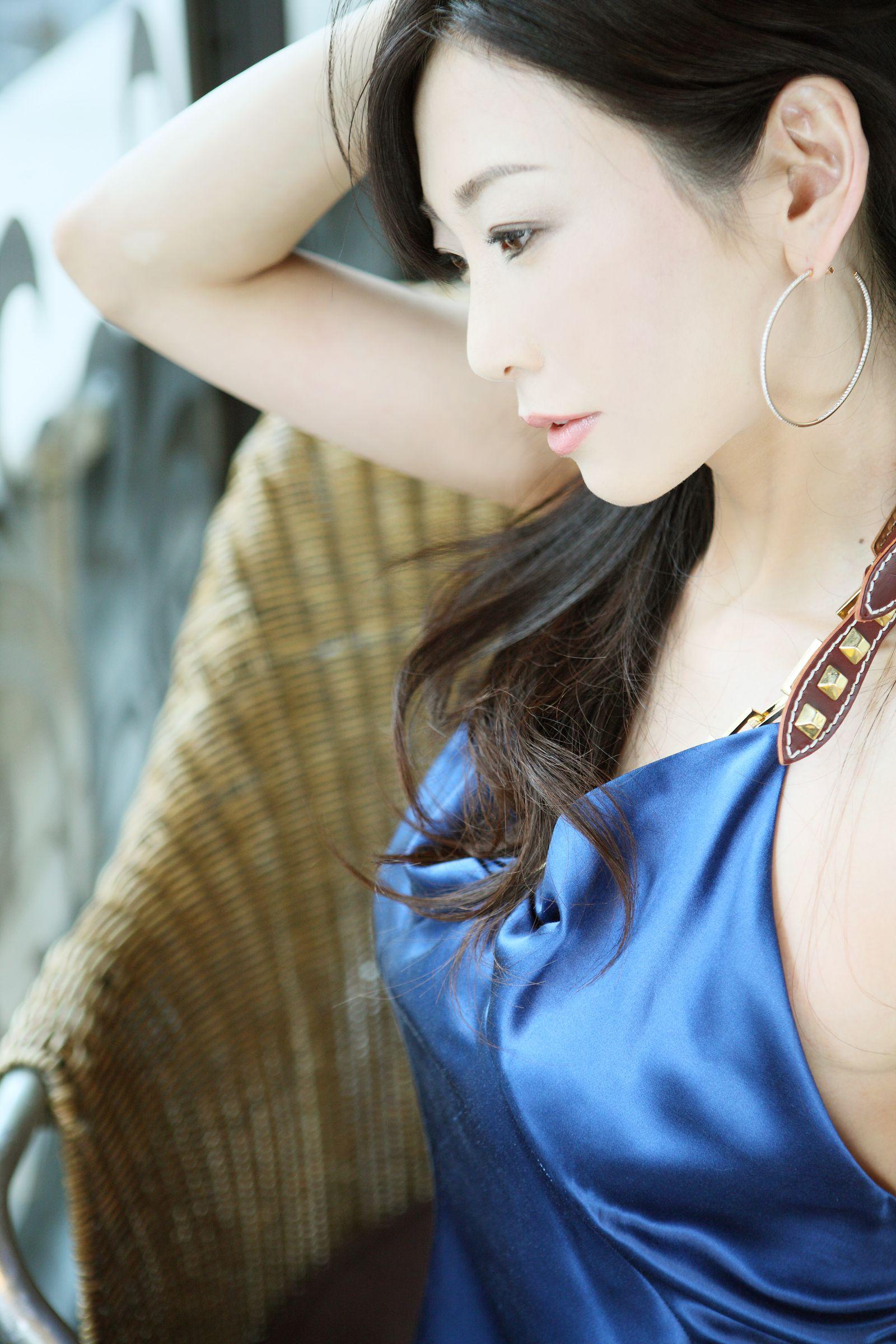 VOL.215 [NS Eyes]气质极品女神长发美女:中岛史惠(中島史恵)超高清写真套图(20P)