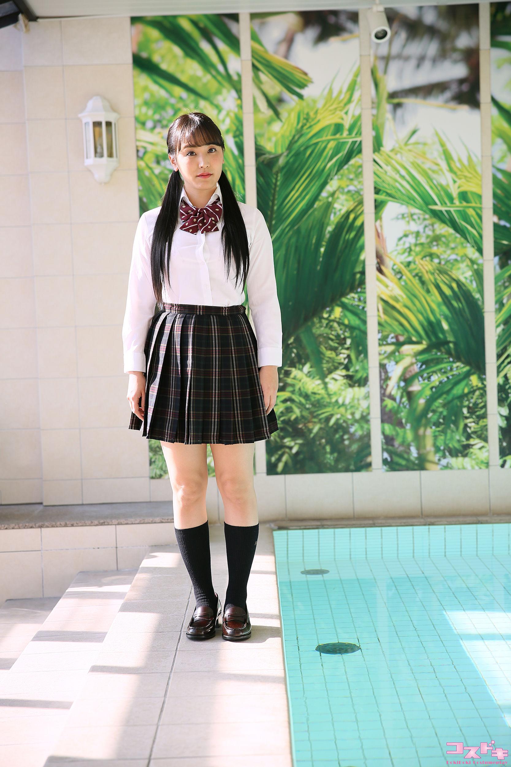 VOL.802 [Cosdoki]学生装:浜田由梨超高清写真套图(64P)