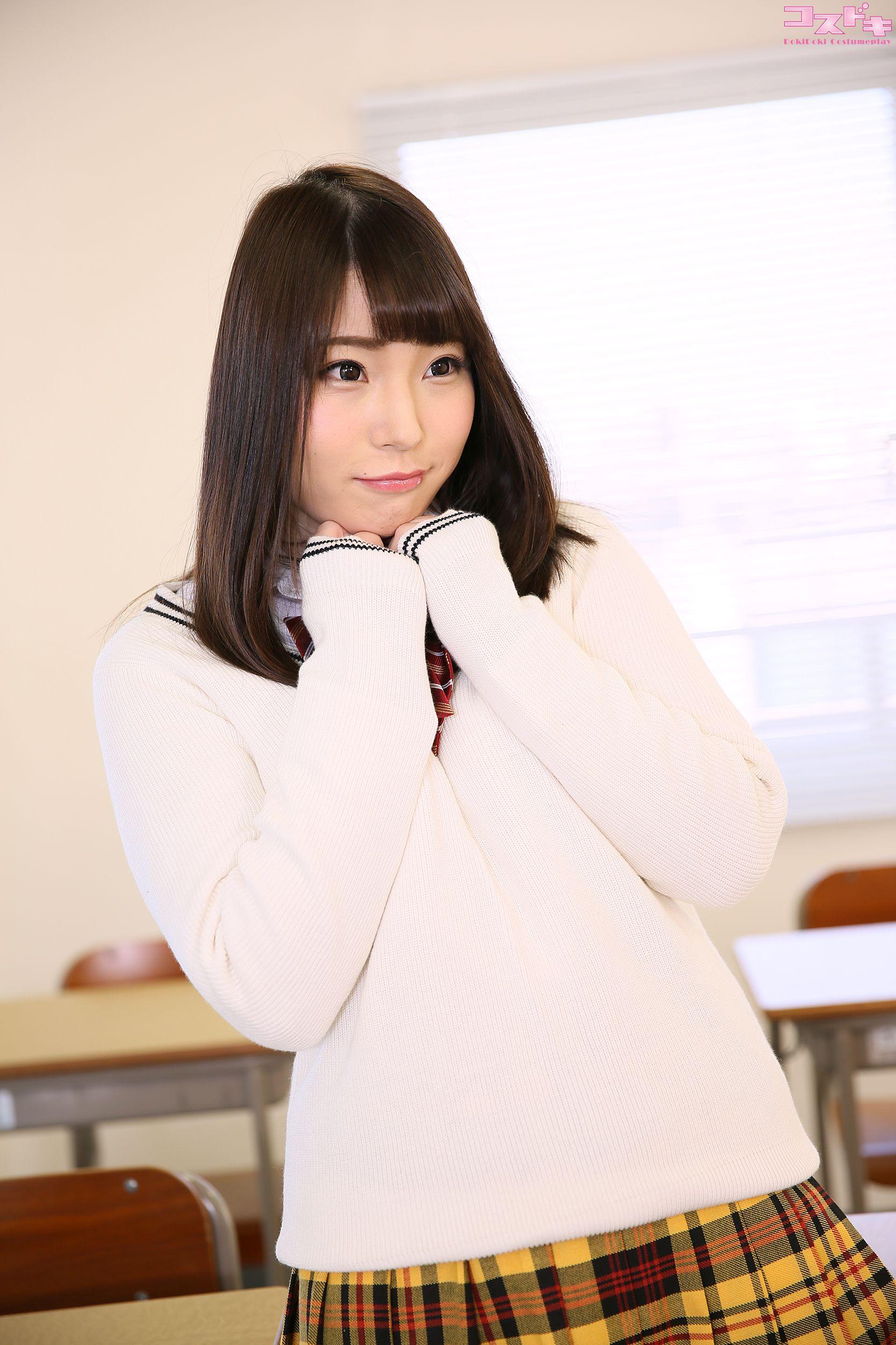 VOL.953 [Cosdoki]学生装:凉宫真白(涼宮ましろ)超高清写真套图(50P)