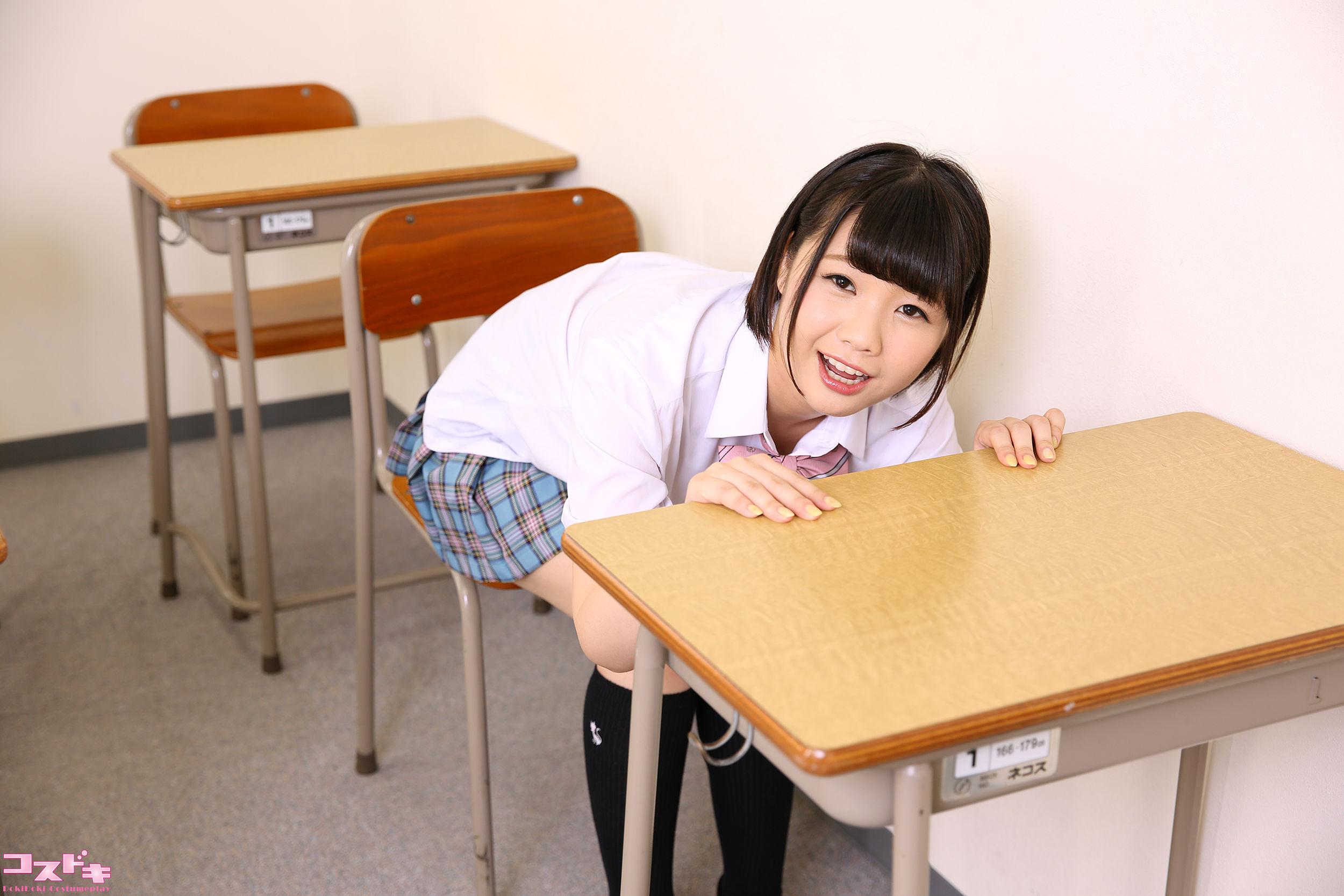 VOL.463 [Cosdoki]学生装:雏菊翼(雛菊つばさ)超高清写真套图(70P)