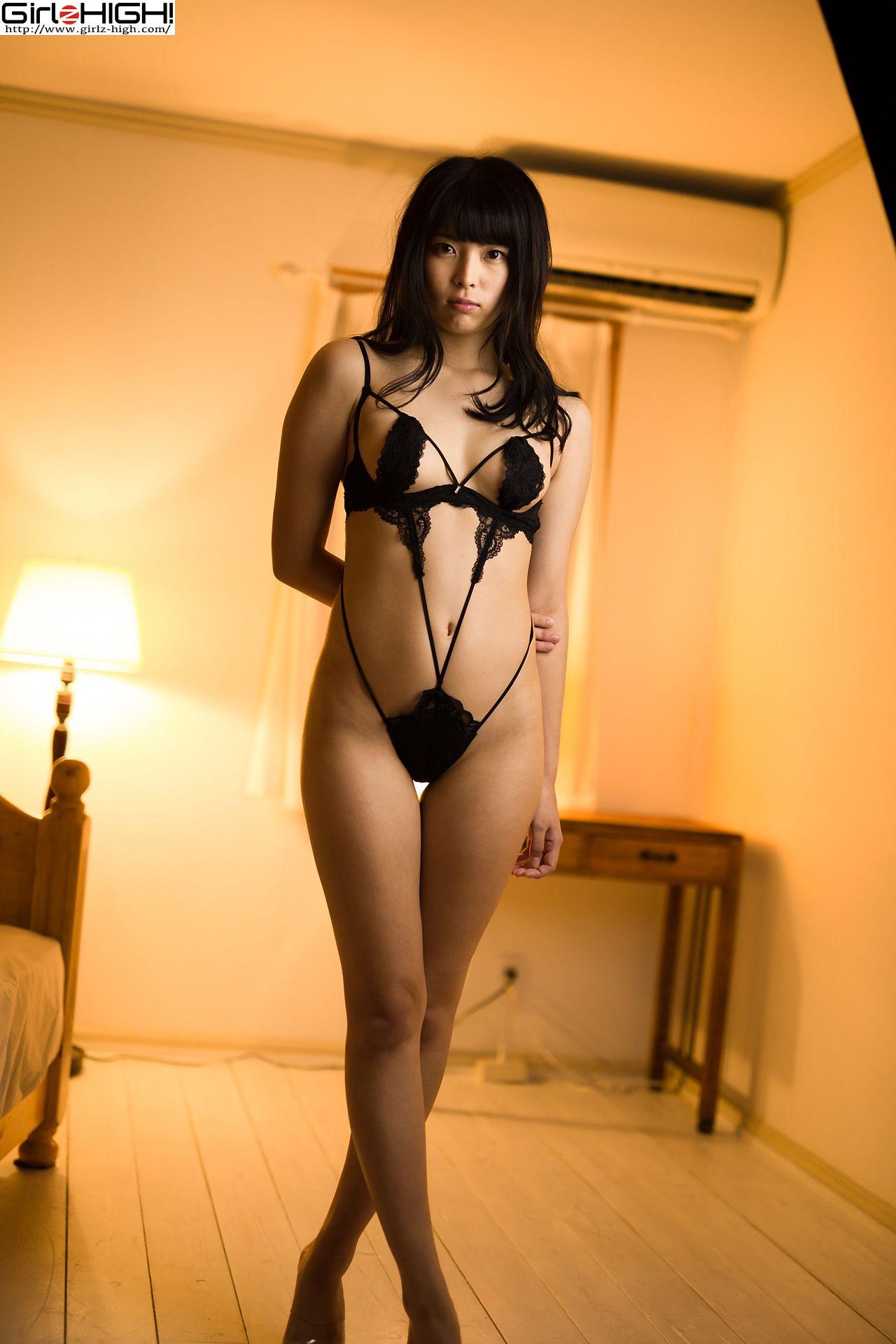 VOL.274 [Girlz-High]丁字裤人体艺术情趣内衣:望月みはる超高清写真套图(45P)