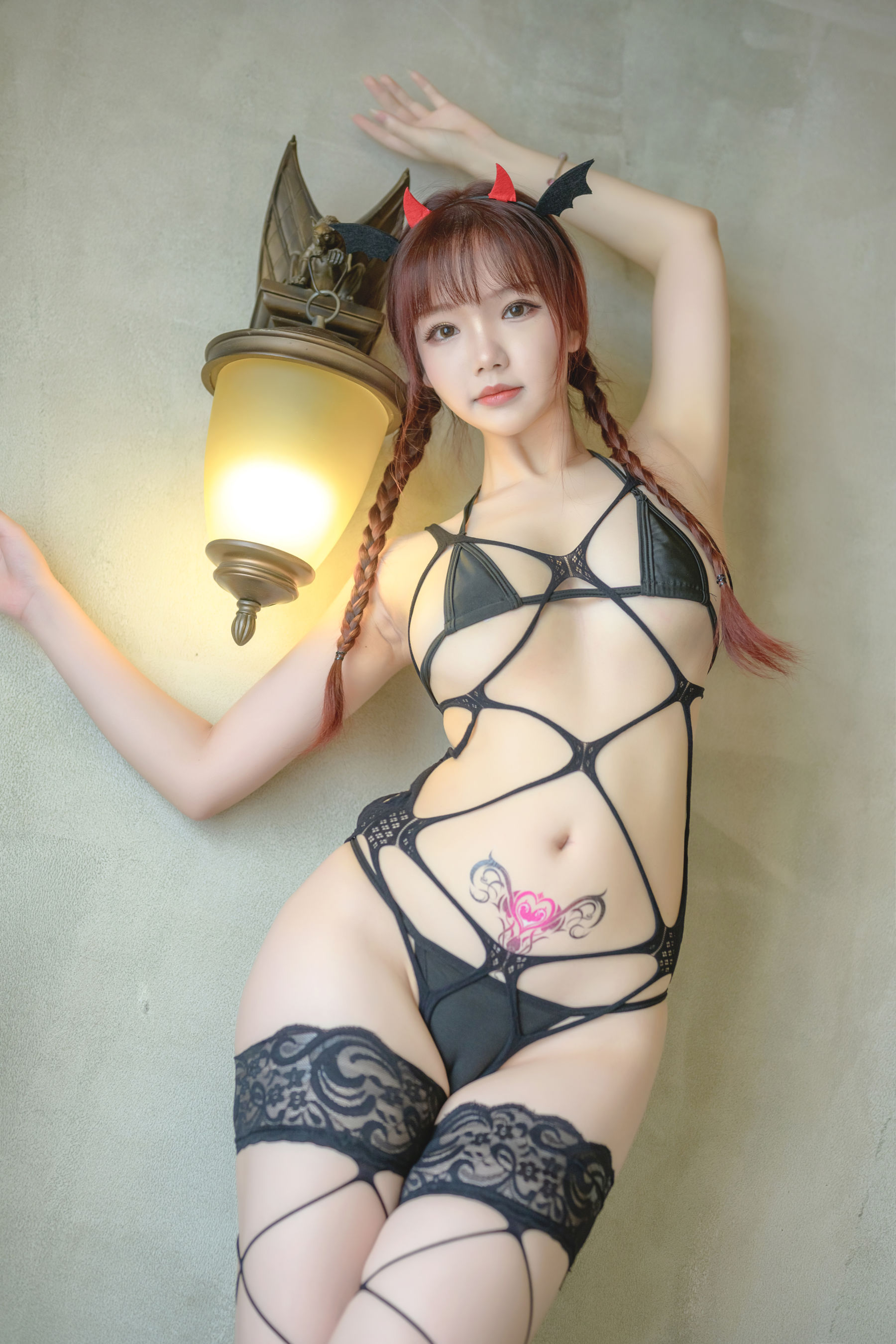 VOL.595 [网络美女]COSPLAY网袜:雪晴Astra(COSER雪晴Astra)高品质写真套图(50P)