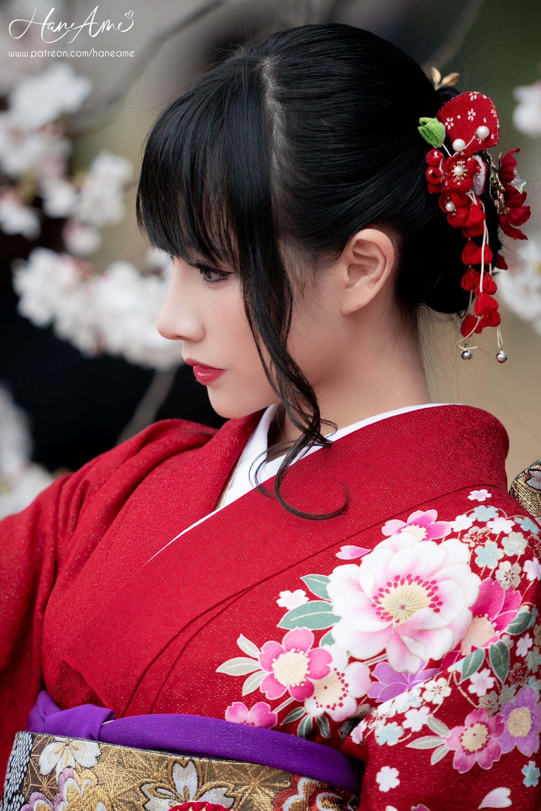 VOL.348 [网络美女]和服:雨波_HaneAme超高清写真套图(38P)