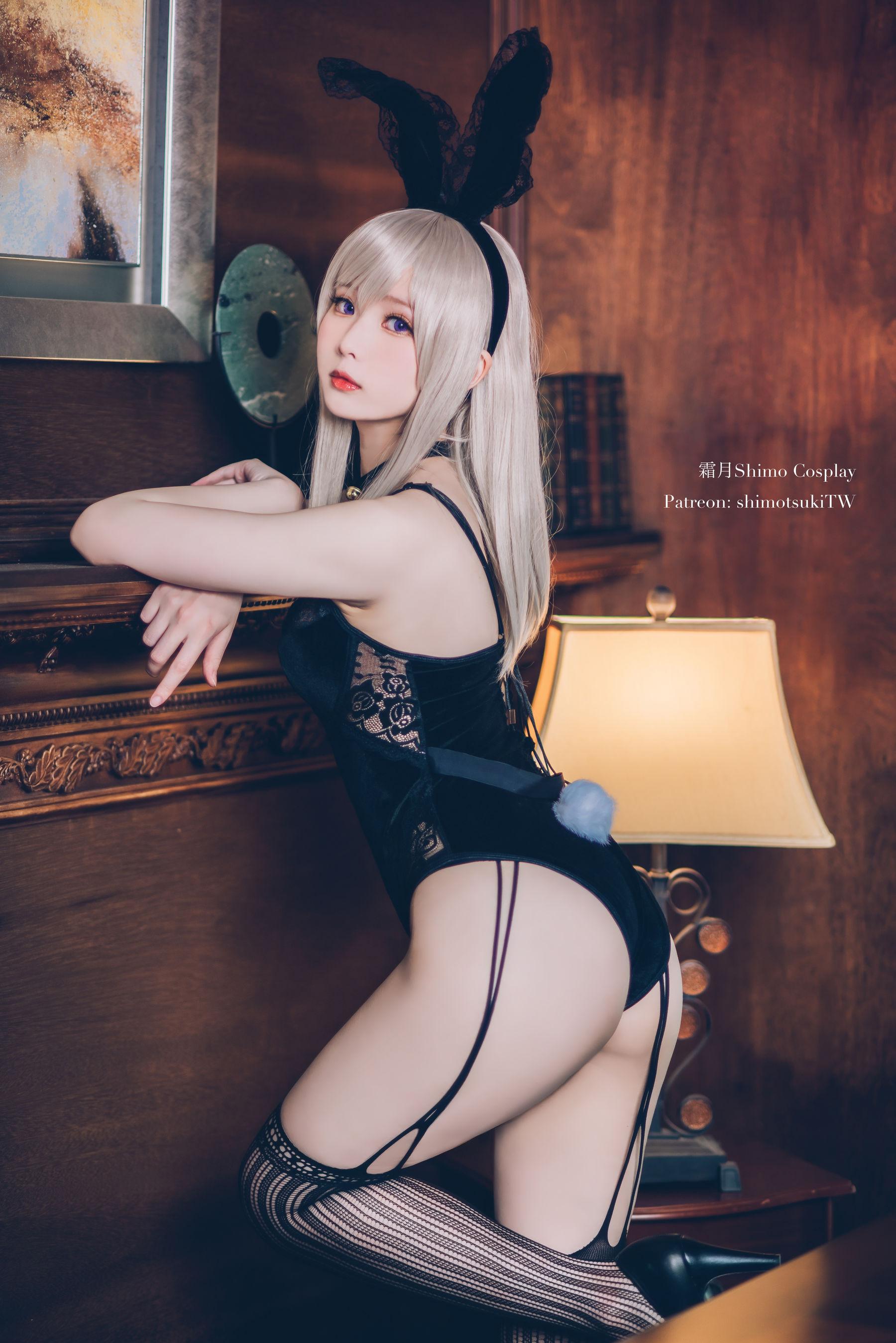 VOL.173 [网络美女]兔女郎:霜月shimo超高清写真套图(14P)