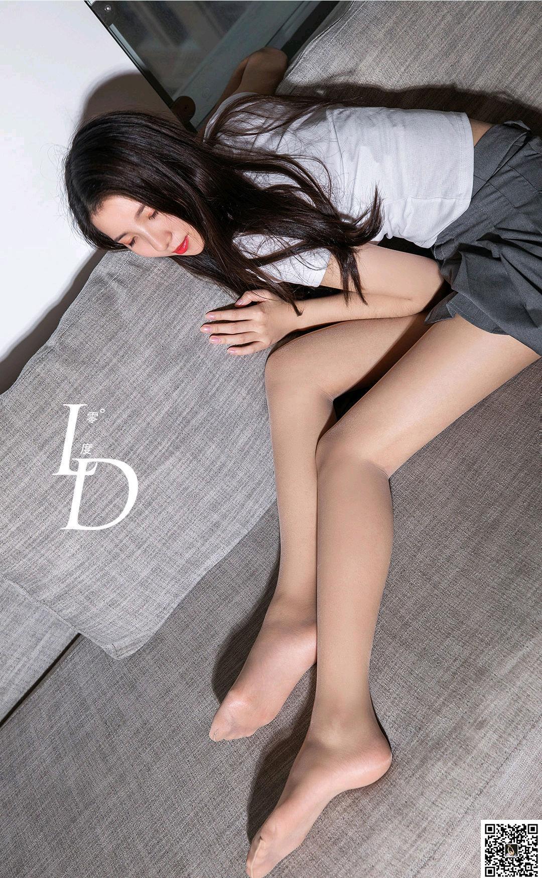VOL.609 [LD零度]肉丝袜丝足:黛欣高品质写真套图(69P)