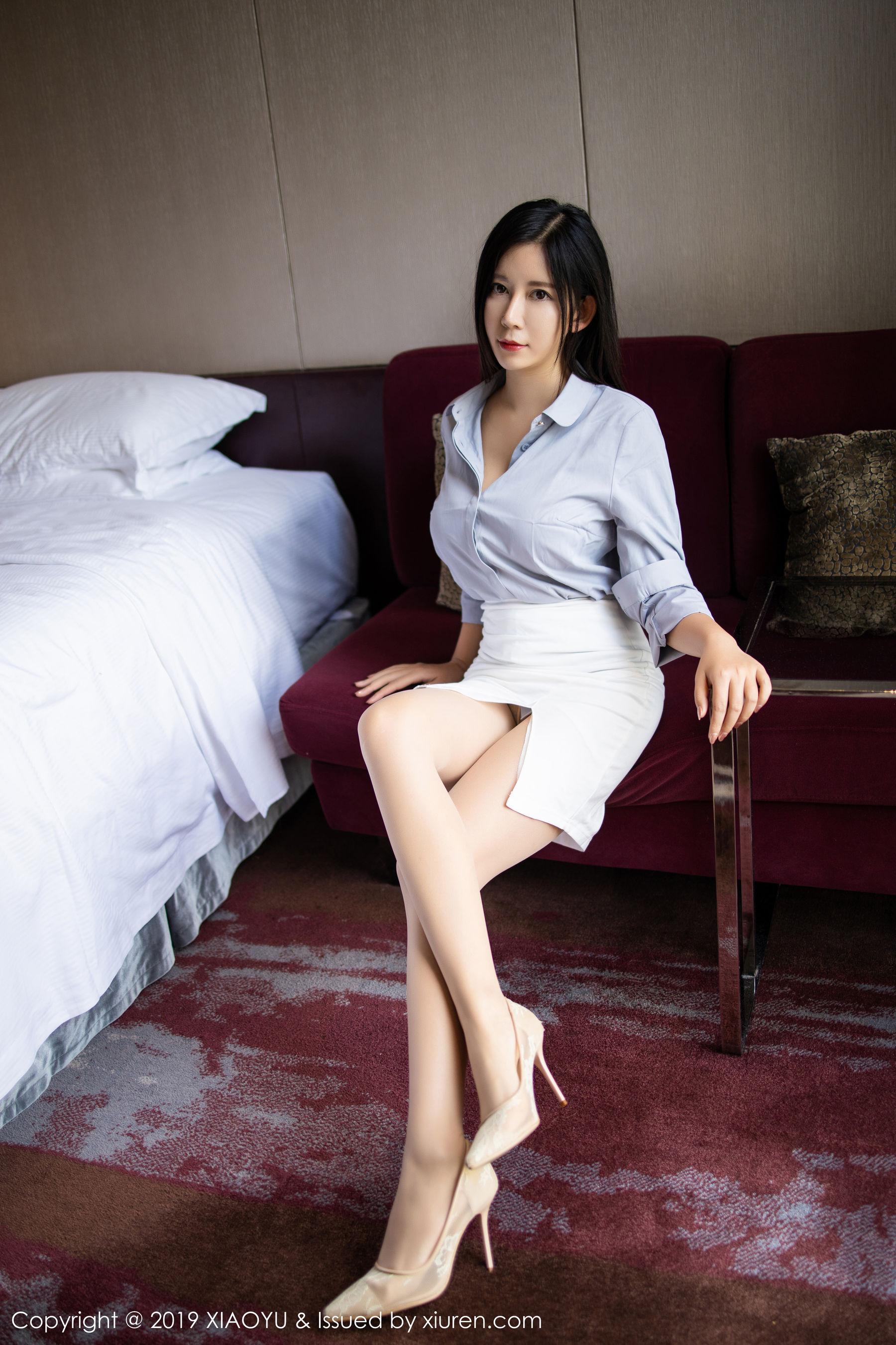 VOL.784 [语画界]美腿大胸女神OL美女:李雅(nova李雅,Abby李雅)超高清写真套图(91P)