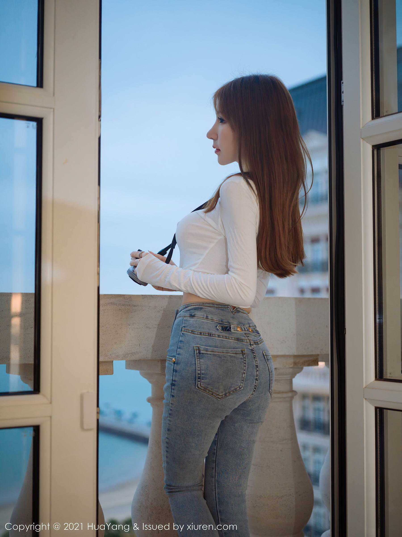 VOL.106 [花漾]牛仔诱惑紧身裤:周于希(周于希Sandy)超高清写真套图(71P)