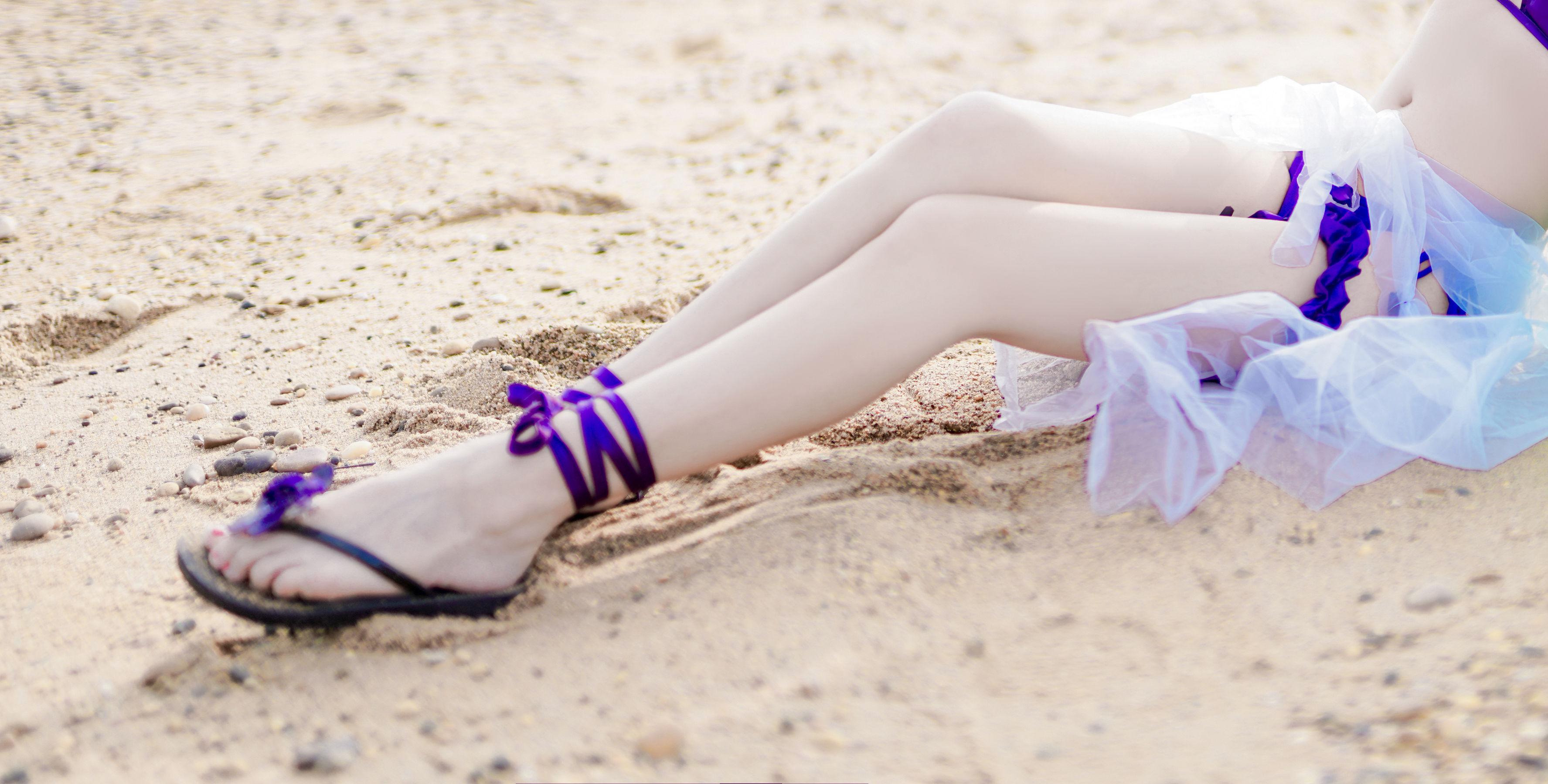 VOL.292 [网络美女]沙滩美女:日奈娇(COSER日奈娇)超高清写真套图(41P)