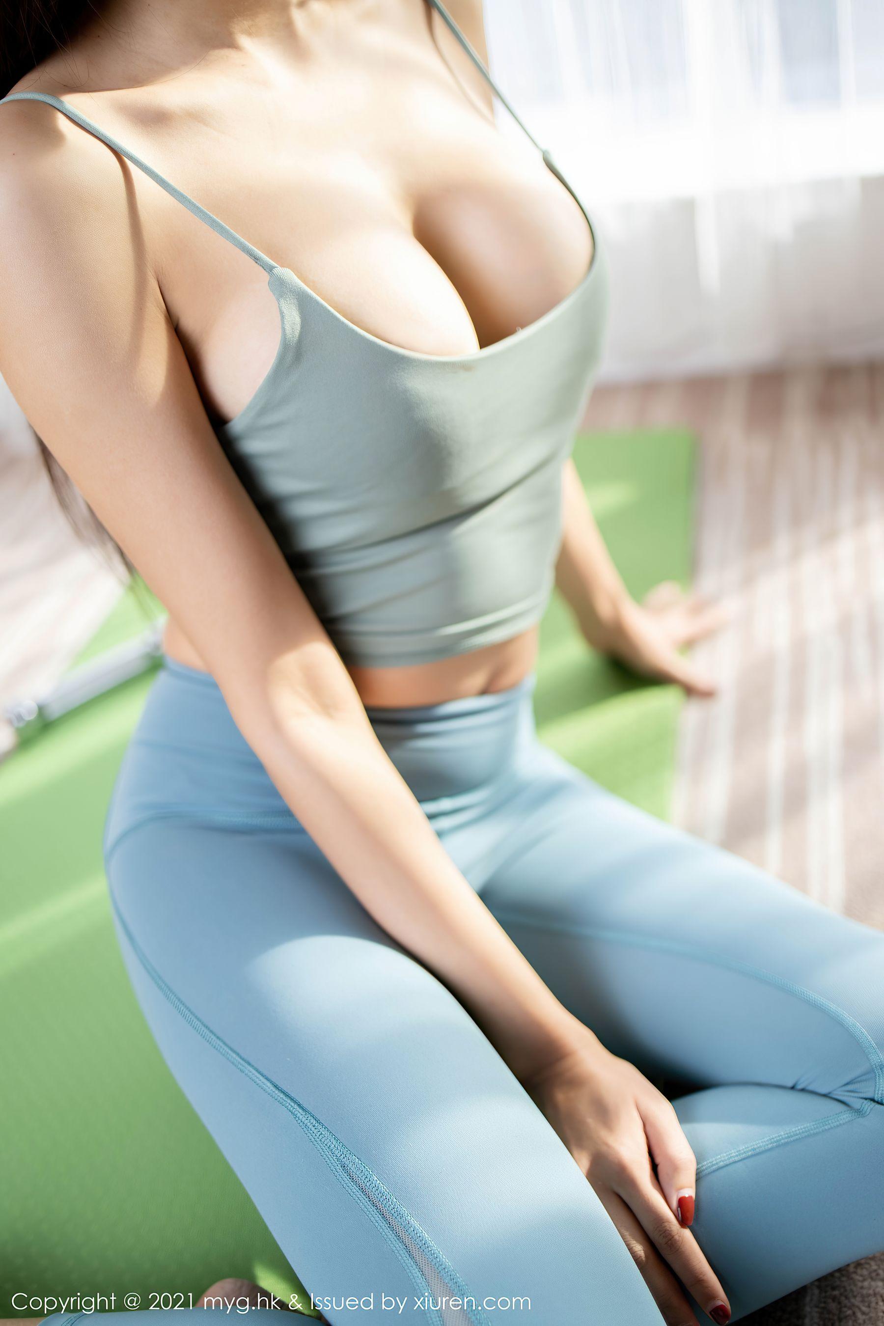 VOL.1163 [美媛馆]美胸紧身裤吊带:王馨瑶(王馨瑶yanni)超高清写真套图(60P)
