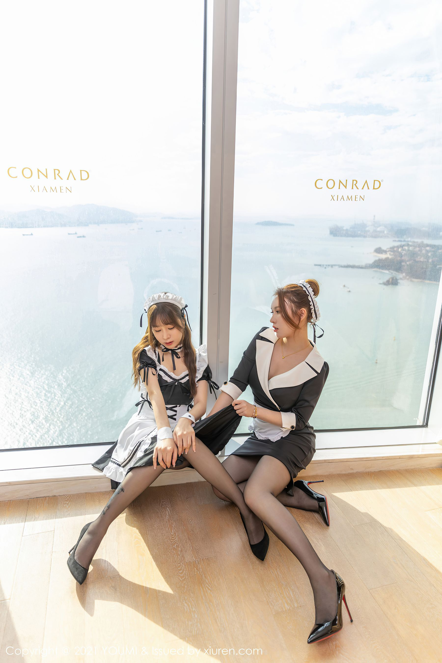 VOL.524 [尤蜜荟]女仆黑丝制服情趣制服:王雨纯超高清写真套图(88P)
