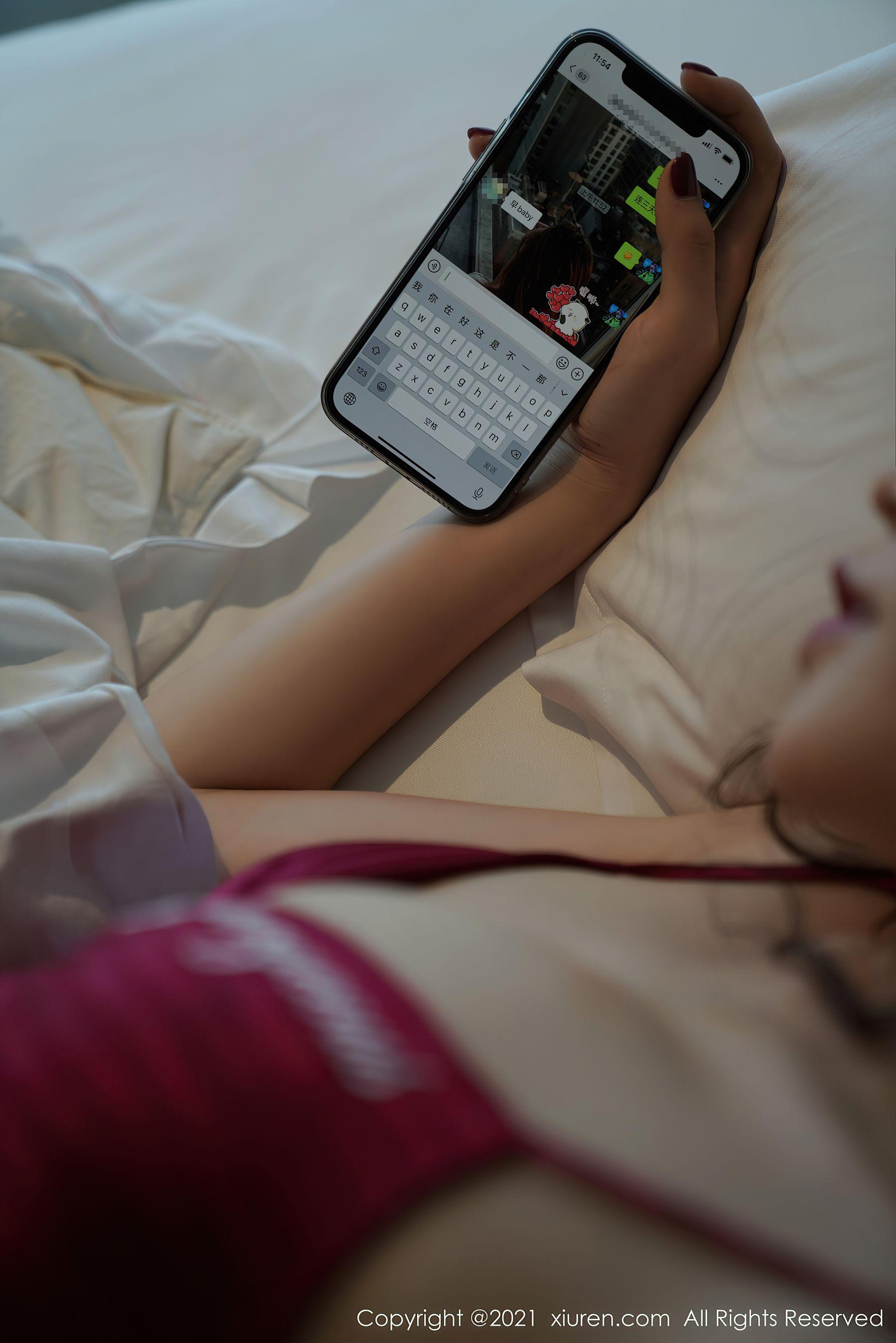 VOL.112 [秀人网]睡衣美女故事:芝芝Booty(陈芝)超高清写真套图(88P)