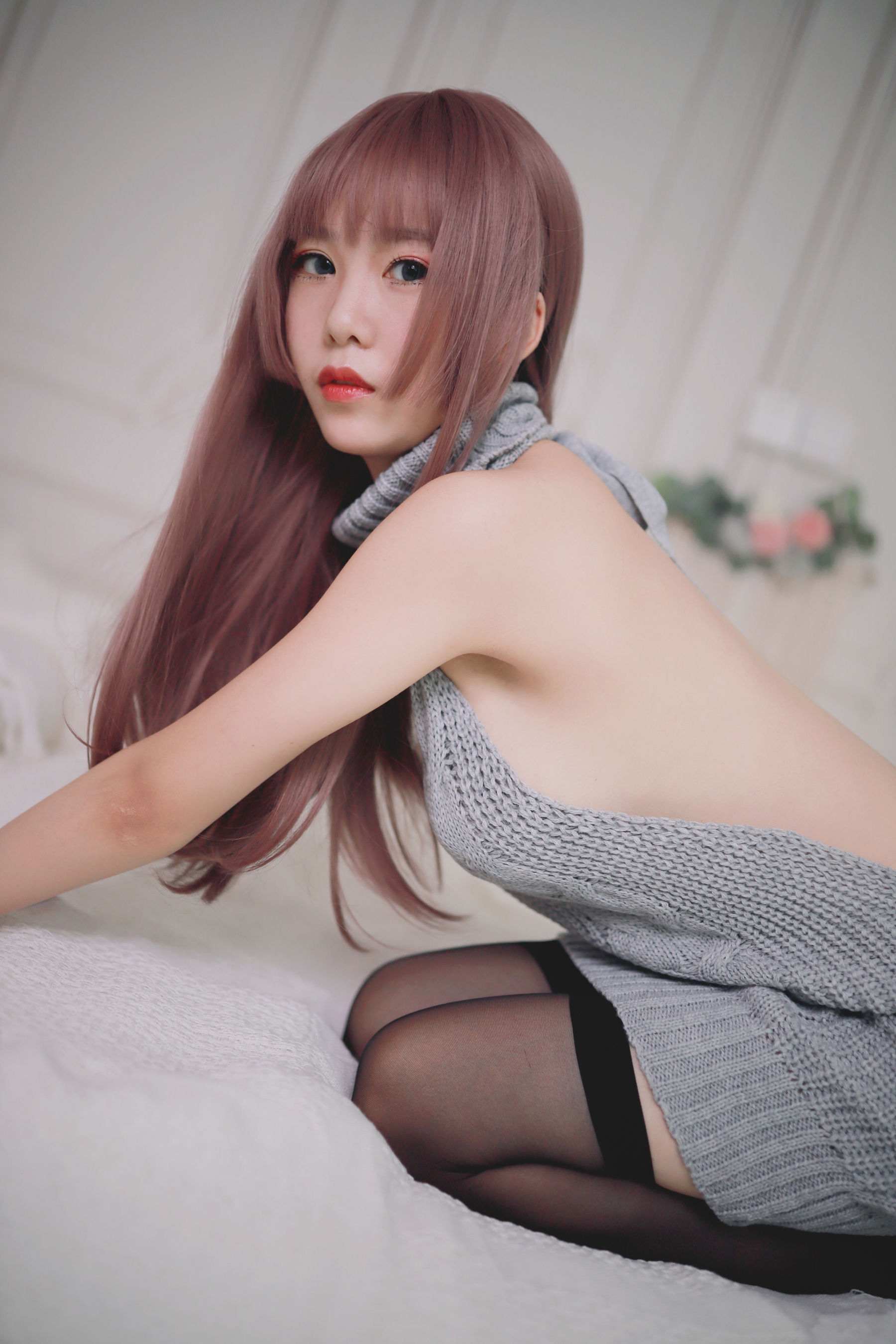 VOL.1283 [网络美女]情趣毛衣:抖娘-利世(Coser抖娘-利世)超高清写真套图(30P)