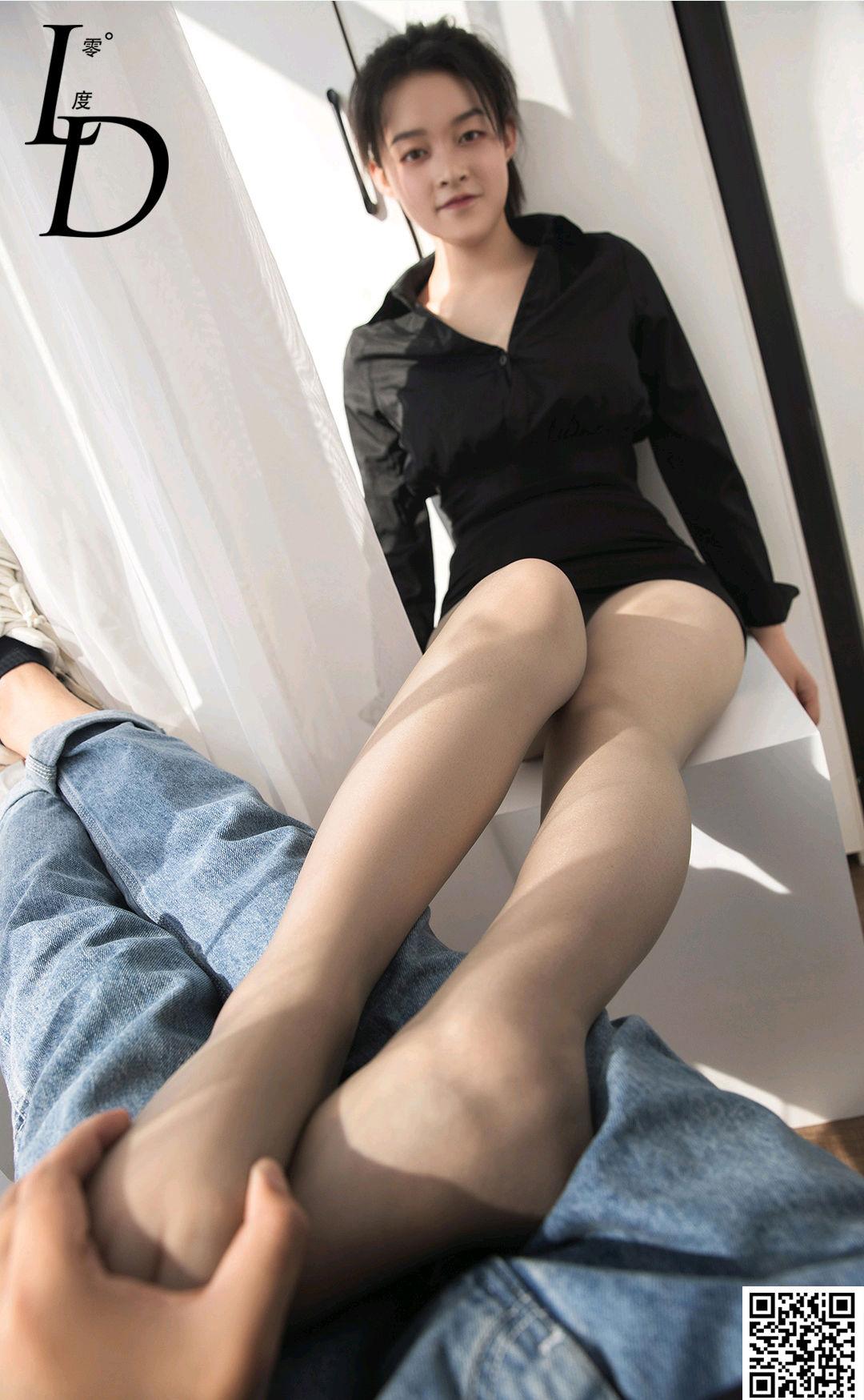VOL.1539 [LD零度]丝袜诱惑肉丝袜:明然高品质写真套图(45P)