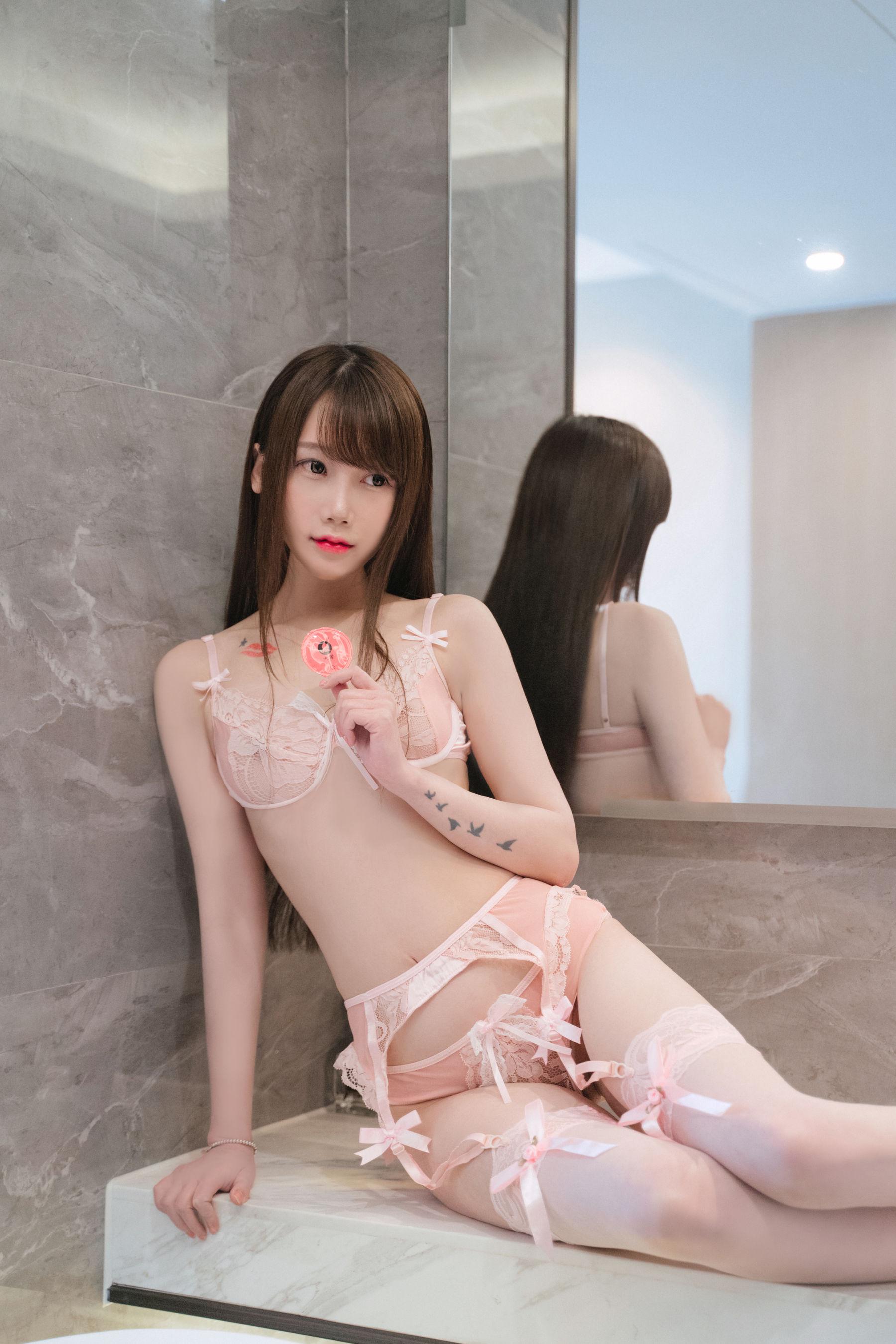 VOL.486 [网络美女]福利浴室:星野咪兔(星小兔Meetu)超高清写真套图(26P)