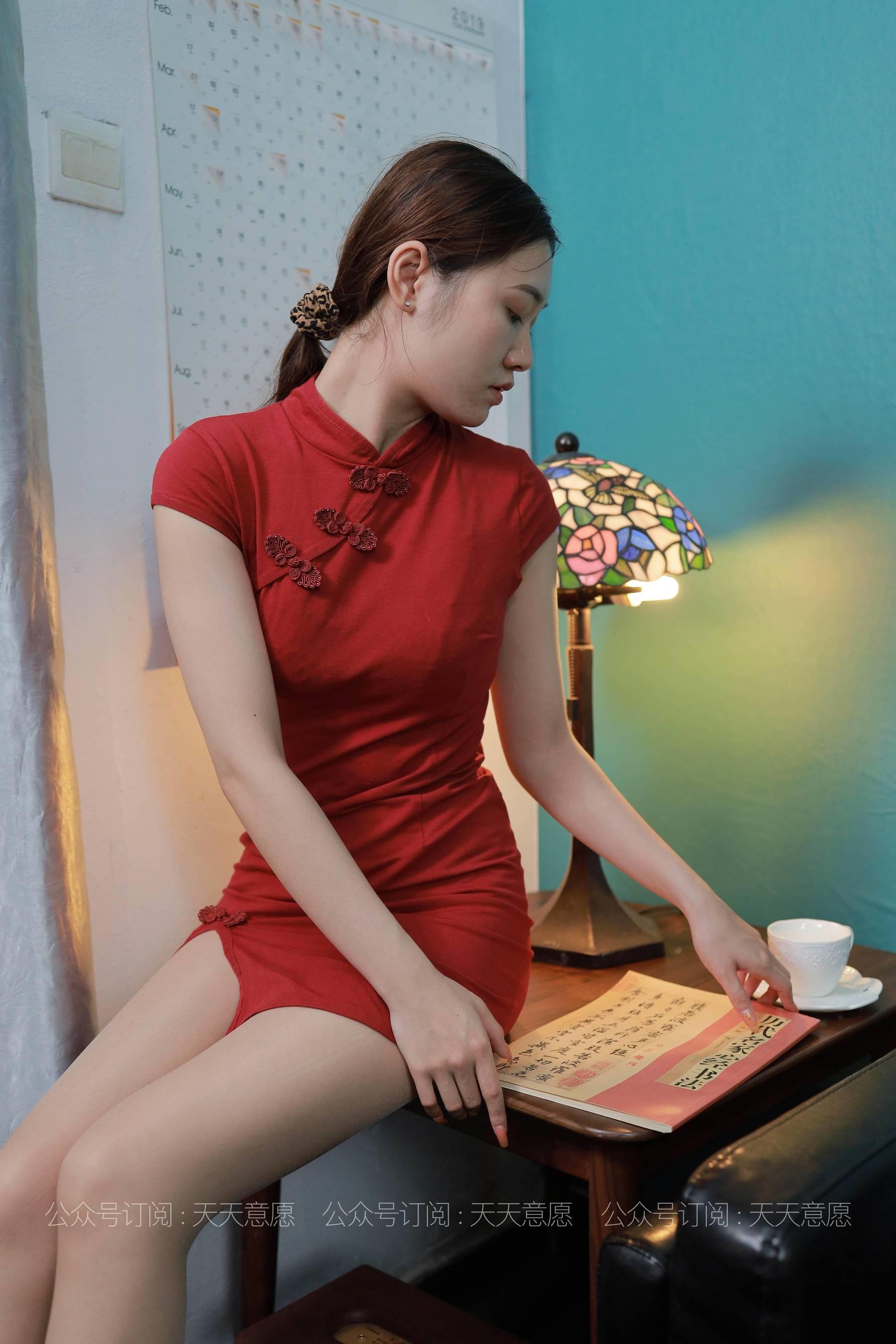 VOL.328 [异思趣向丝享家]旗袍肉丝袜丝足:可可高品质写真套图(90P)