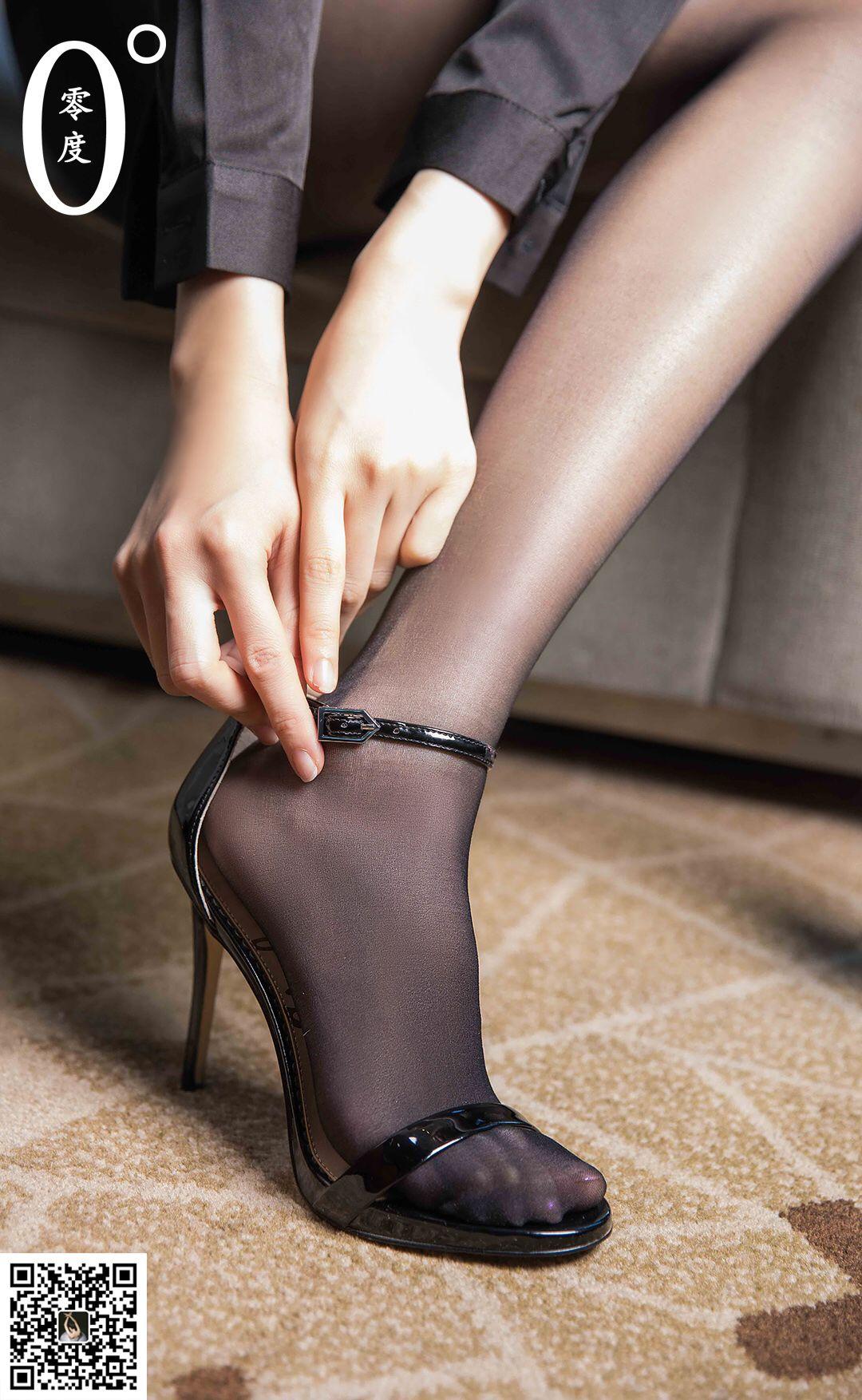 VOL.607 [LD零度]丝袜熟女黑丝制服黑丝诱惑:模特优优超高清写真套图(56P)