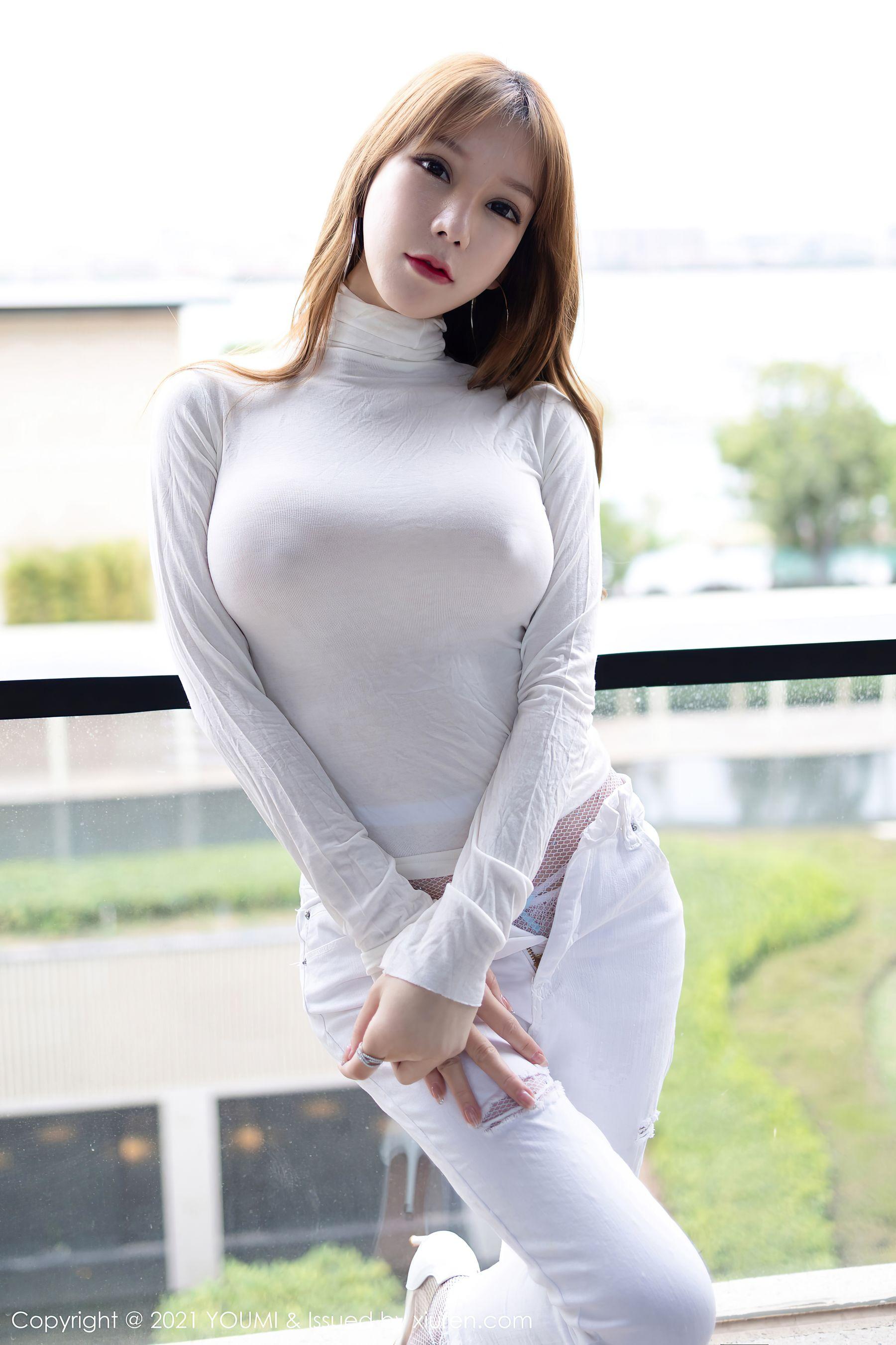 VOL.214 [尤蜜荟]大胸紧身裤:周于希(周于希Sandy)超高清写真套图(56P)