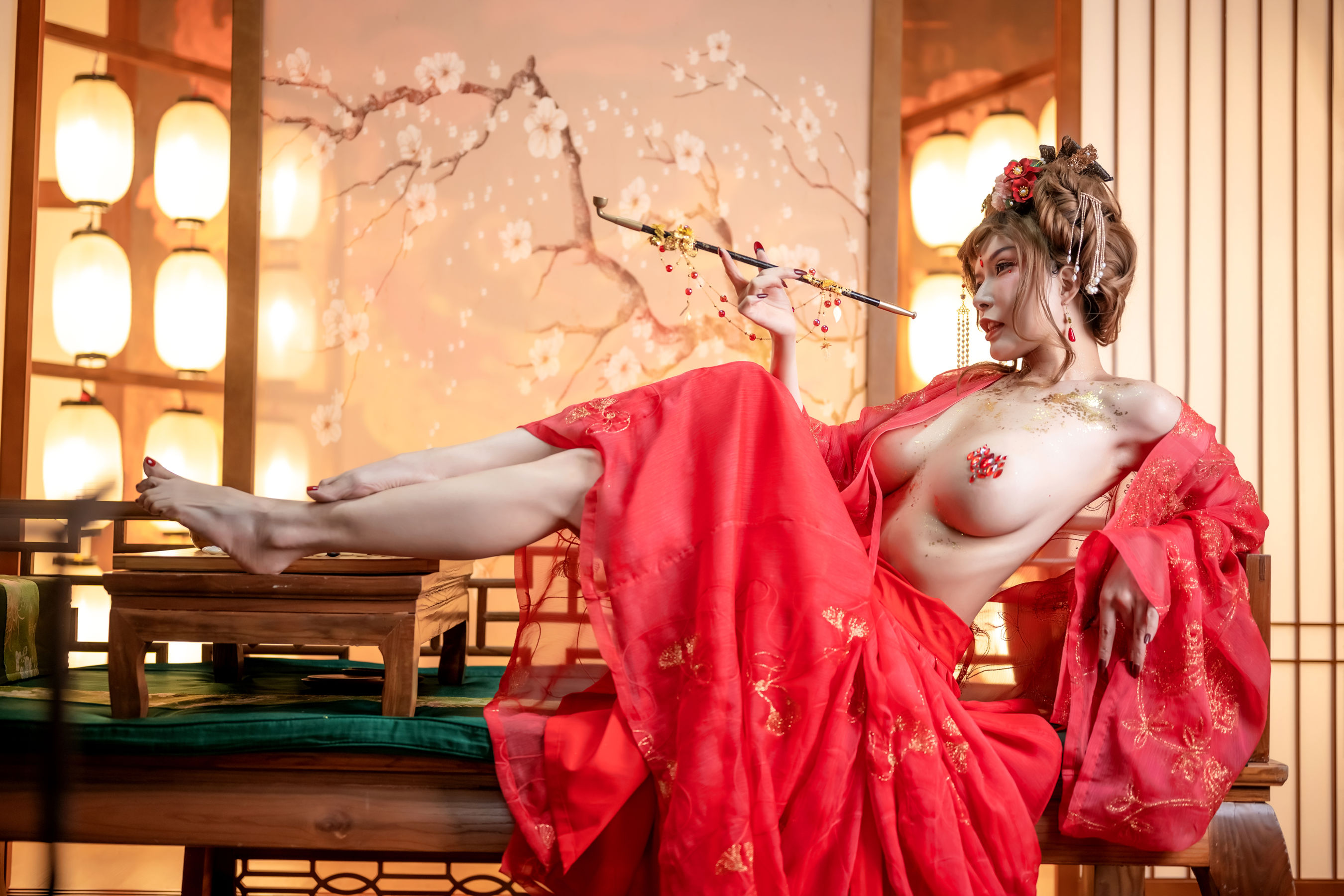 VOL.1277 [网络美女]COSPLAY福利人体艺术新年:秋和柯基(夏小秋)高品质写真套图(63P)