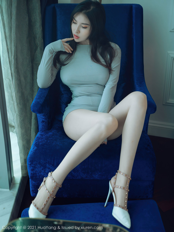 VOL.1350 [花漾]熟女巨乳:乔漫妮(乔漫妮mina,赵惟依)超高清写真套图(45P)