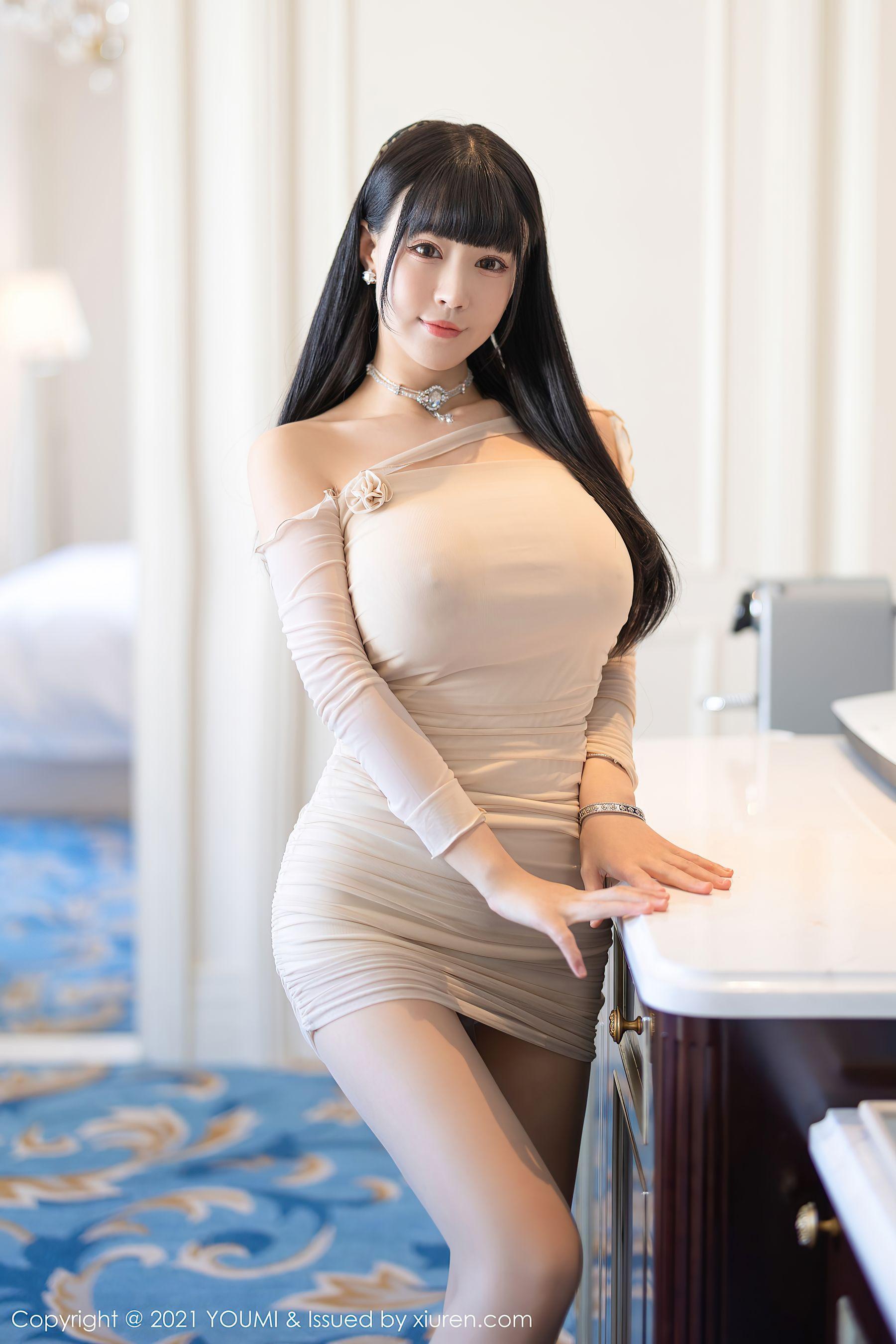 VOL.654 [尤蜜荟]巨乳肥臀:朱可儿(Barbie可儿,Flower朱可儿)超高清写真套图(104P)