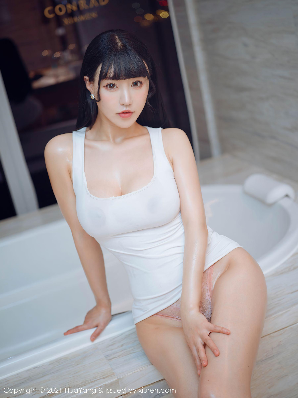 VOL.675 [花漾]浴室巨乳背心:朱可儿(Barbie可儿,Flower朱可儿)超高清写真套图(63P)