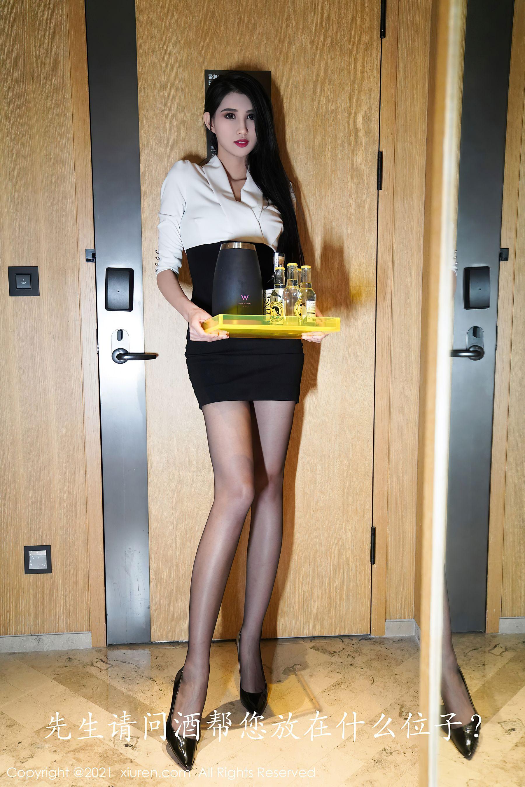 VOL.1123 [秀人网]丝袜女郎黑丝美腿黑丝诱惑:葛征(葛征Model,哈尼宝宝)超高清写真套图(40P)