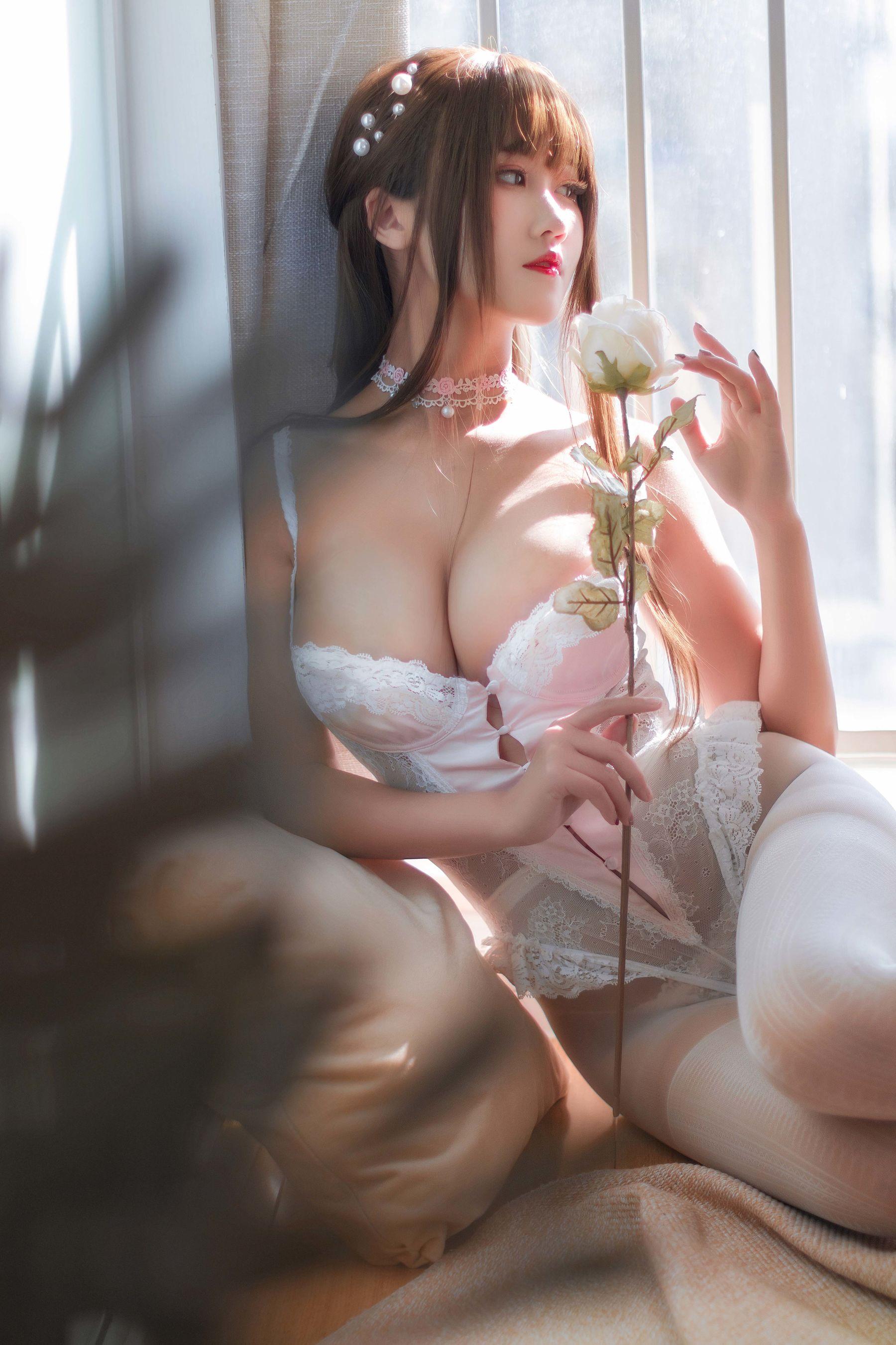 VOL.1062 [网络美女]大胸蕾丝诱惑:三度_69(Coser三度_69)超高清写真套图(20P)