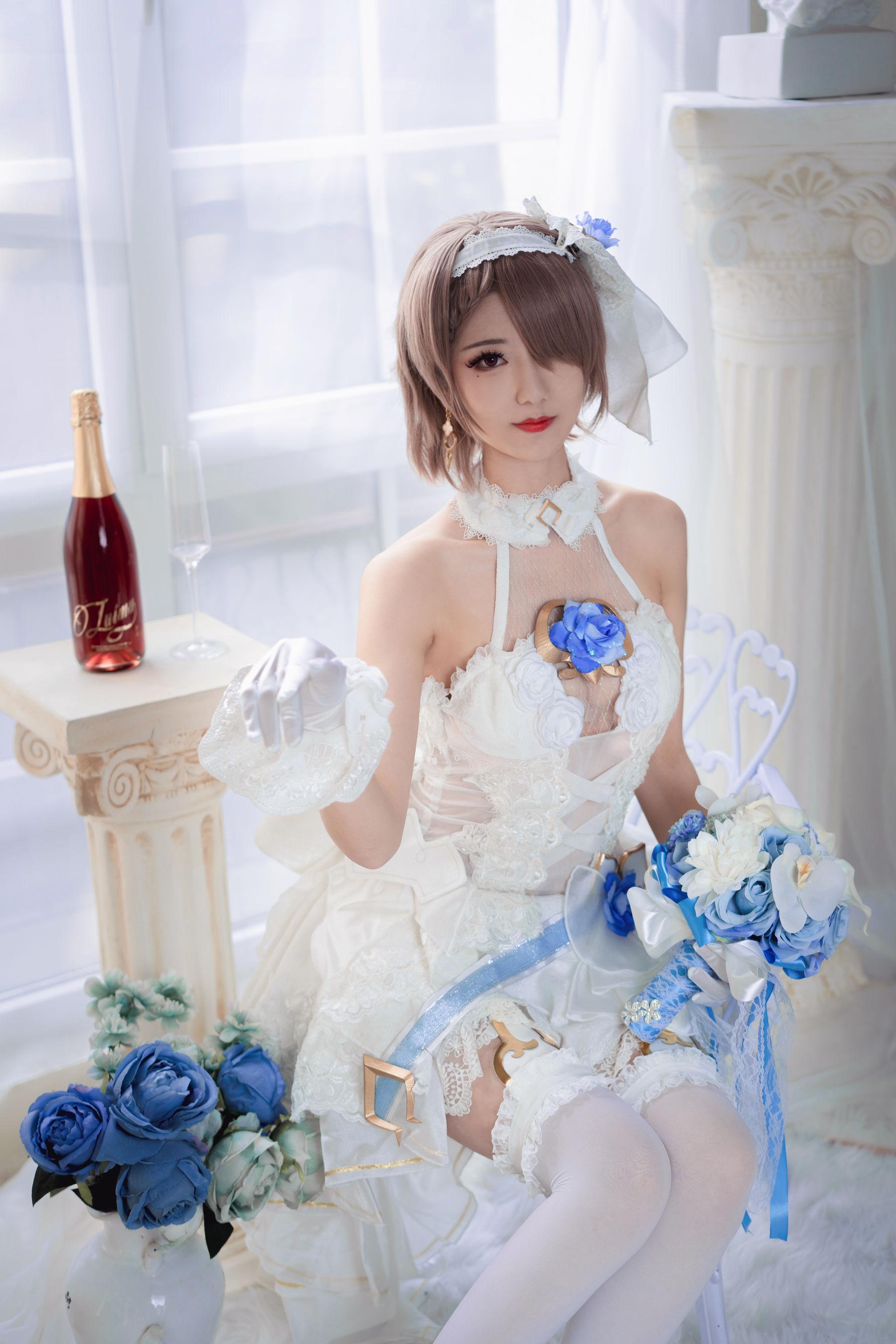 VOL.1282 [网络美女]婚纱:弥音音ww(COSER弥音音ww)高品质写真套图(33P)
