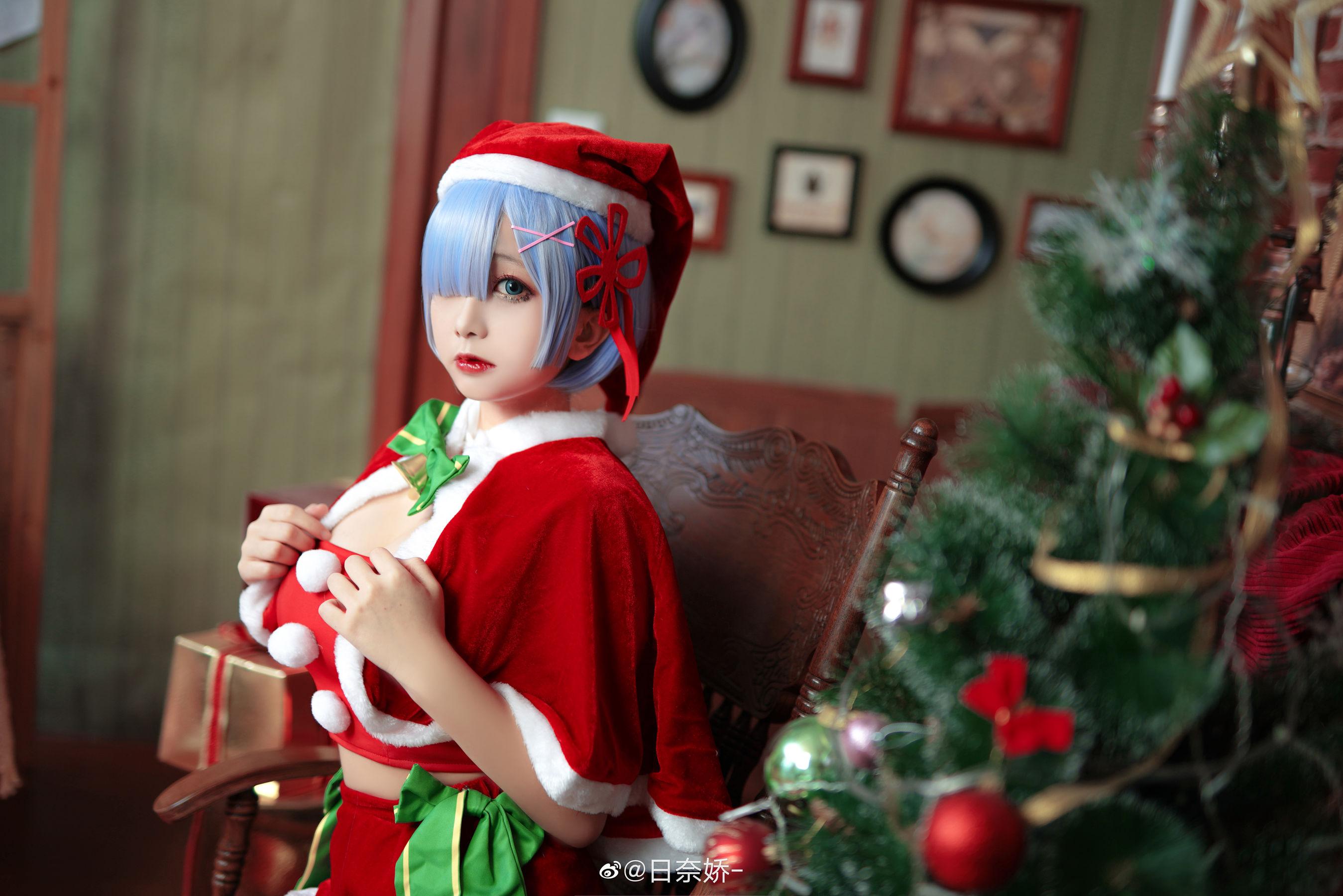 VOL.12 [网络美女]圣诞:日奈娇(COSER日奈娇)高品质写真套图(9P)