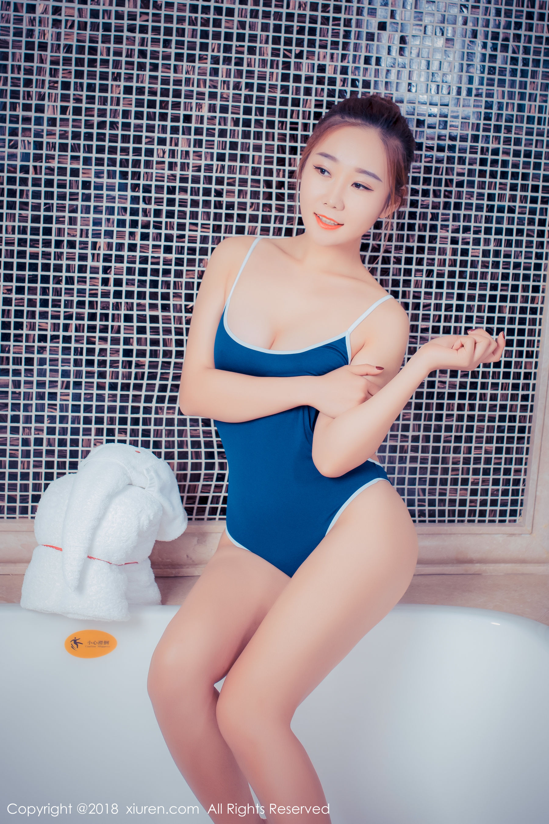 VOL.156 [秀人网]大胆人体艺术浴室美乳:棉花糖candy(模特棉花糖)超高清写真套图(58P)