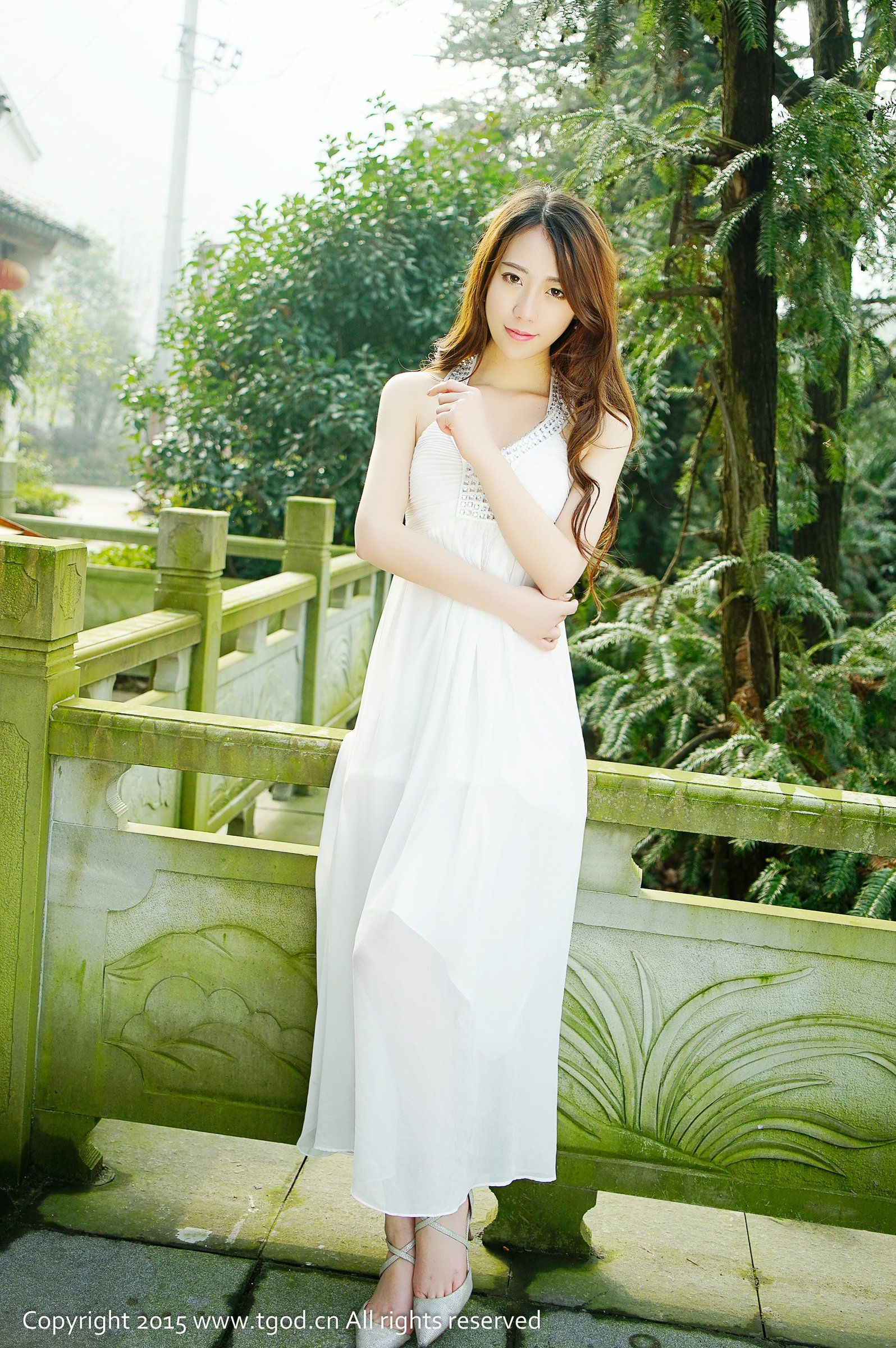 VOL.283 [推女神]长裙气质清新唯美女神长发美女:邓雪(邓雪Sweet)高品质写真套图(54P)