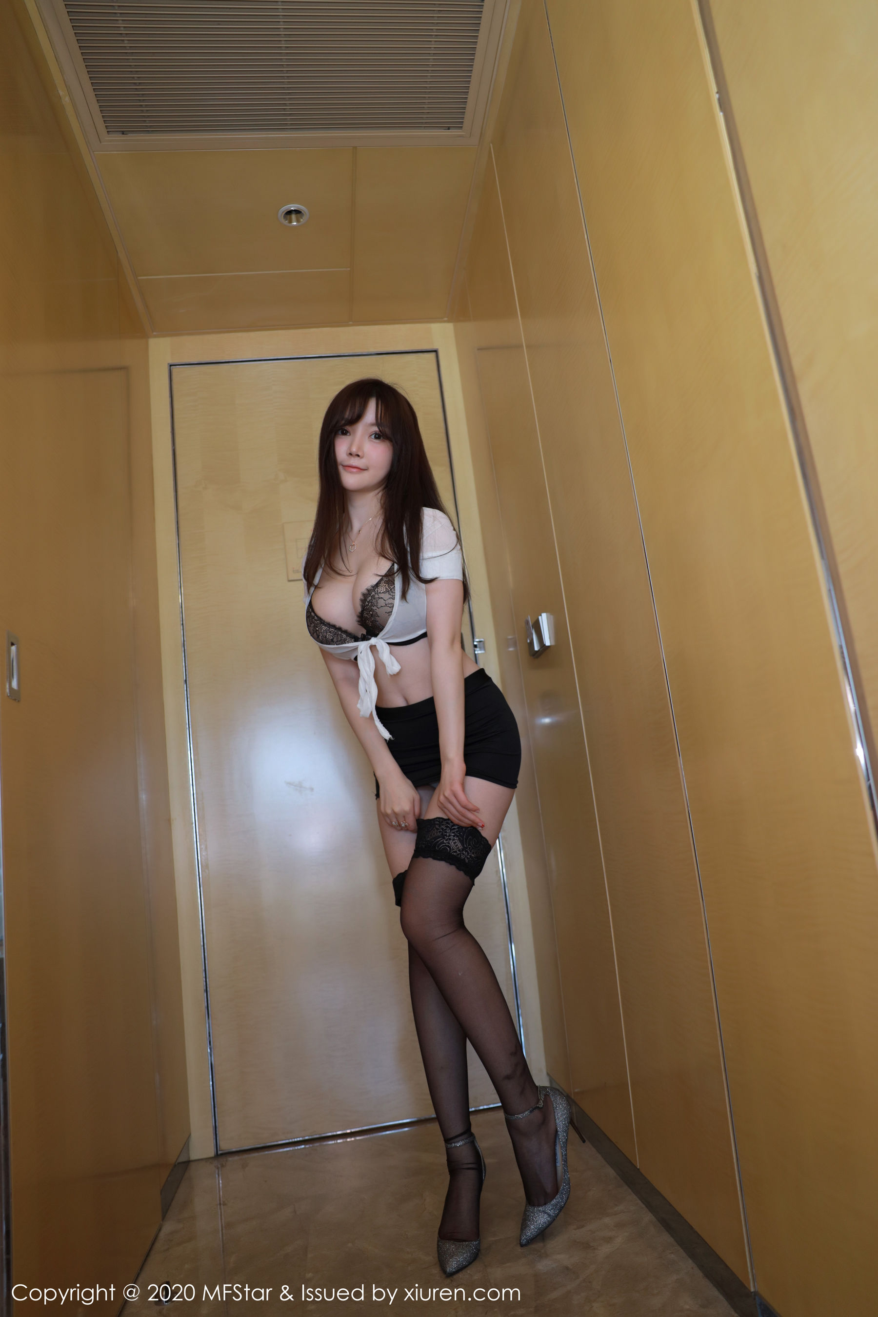 VOL.579 [模范学院]黑丝制服丝袜短裙黑丝诱惑:糯美子MINIbabe(米妮大萌萌,苏糯米,糯美子Mini,米妮mini)超高清写真套图(67P)